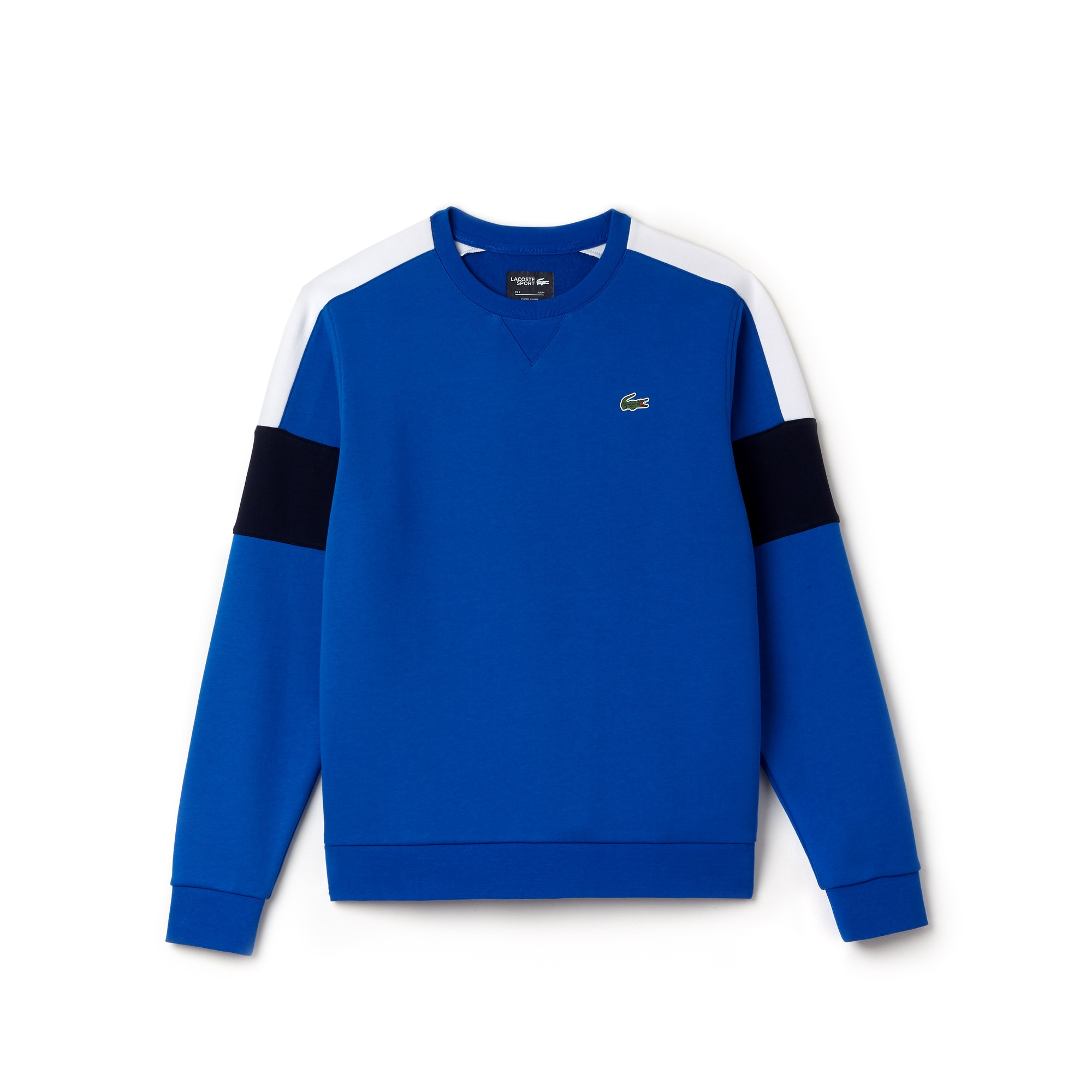 Herren LACOSTE SPORT Tennis Sweatshirt aus Fleece mit Colorblocks