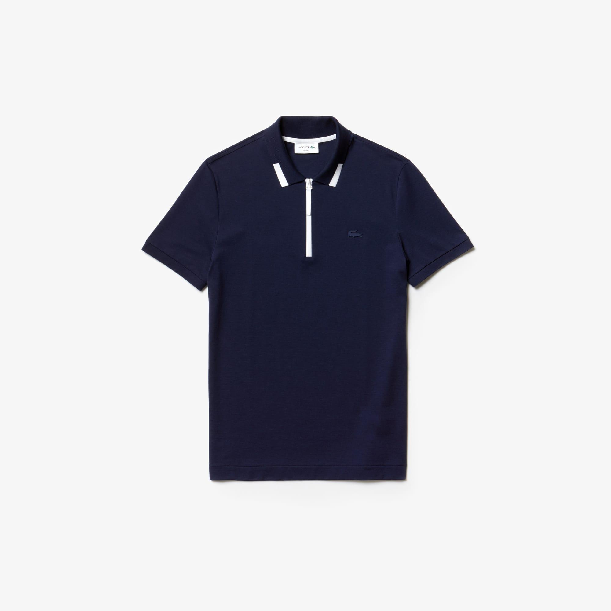 Herren-Poloshirt aus Baumwoll-Piqué in Slim Fit LACOSTE MOTION 4c282def2d