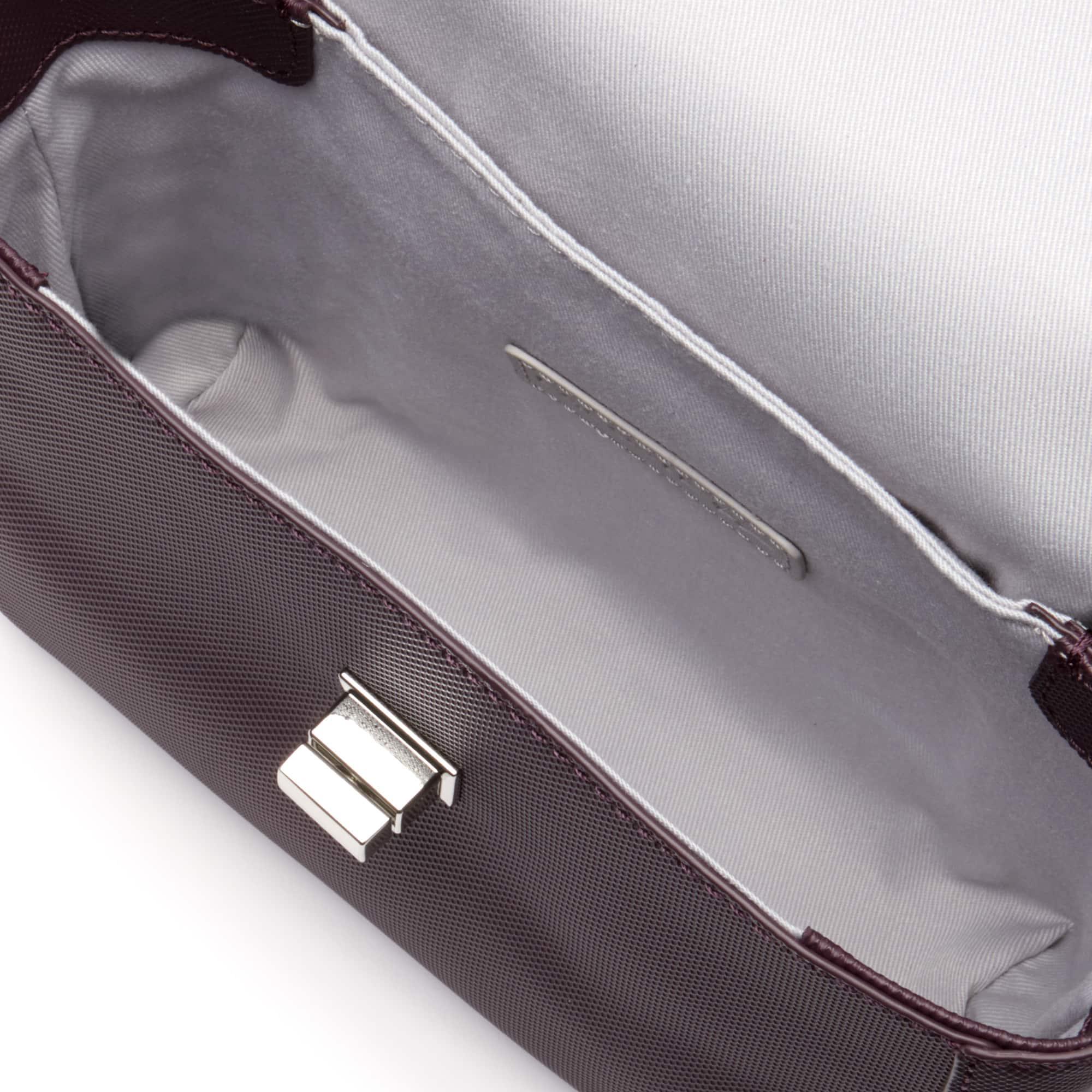Lacoste - Damen-Klapptasche DAILY CLASSIC aus beschichtetem Piqué-Canvas - 3