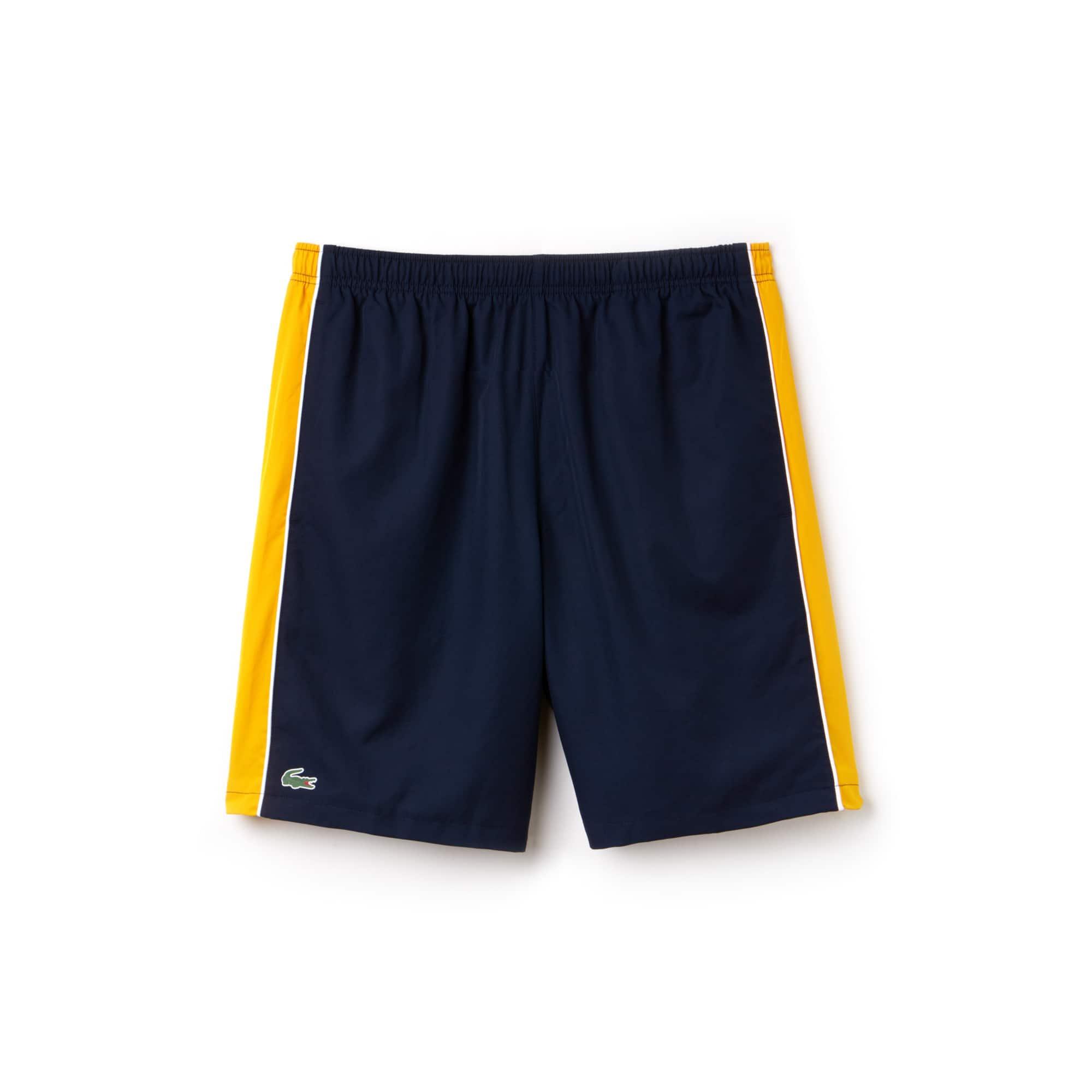 Herren LACOSTE SPORT NOVAK DJOKOVIC COLLECTION Colorblock Shorts