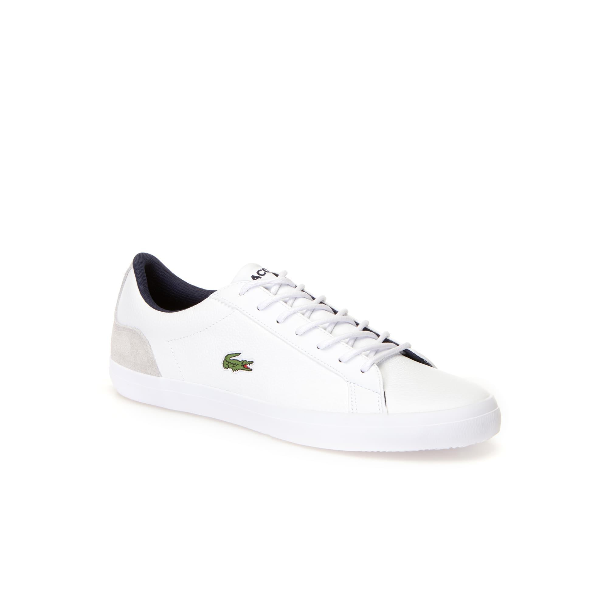 Herren-Sneakers LEROND aus Leder und Veloursleder