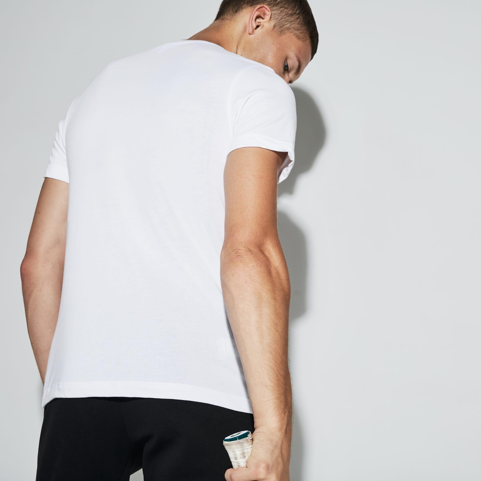 Lacoste - Herren LACOSTE SPORT Rundhals Tennis T-Shirt aus Jersey - 2