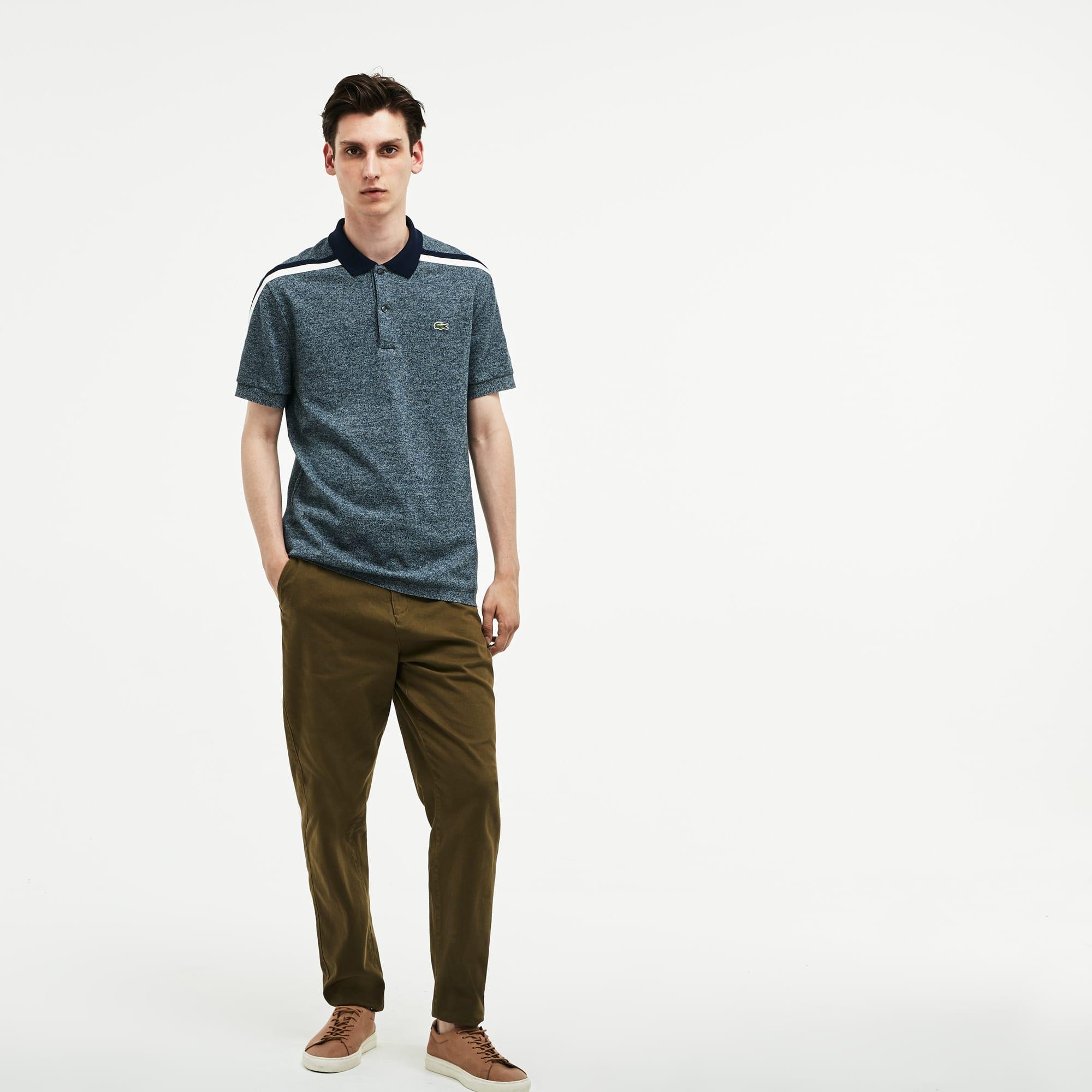 Lacoste - LACOSTE Made In France Regular Fit Herren-Poloshirt aus Baumwoll-Piqué - 4