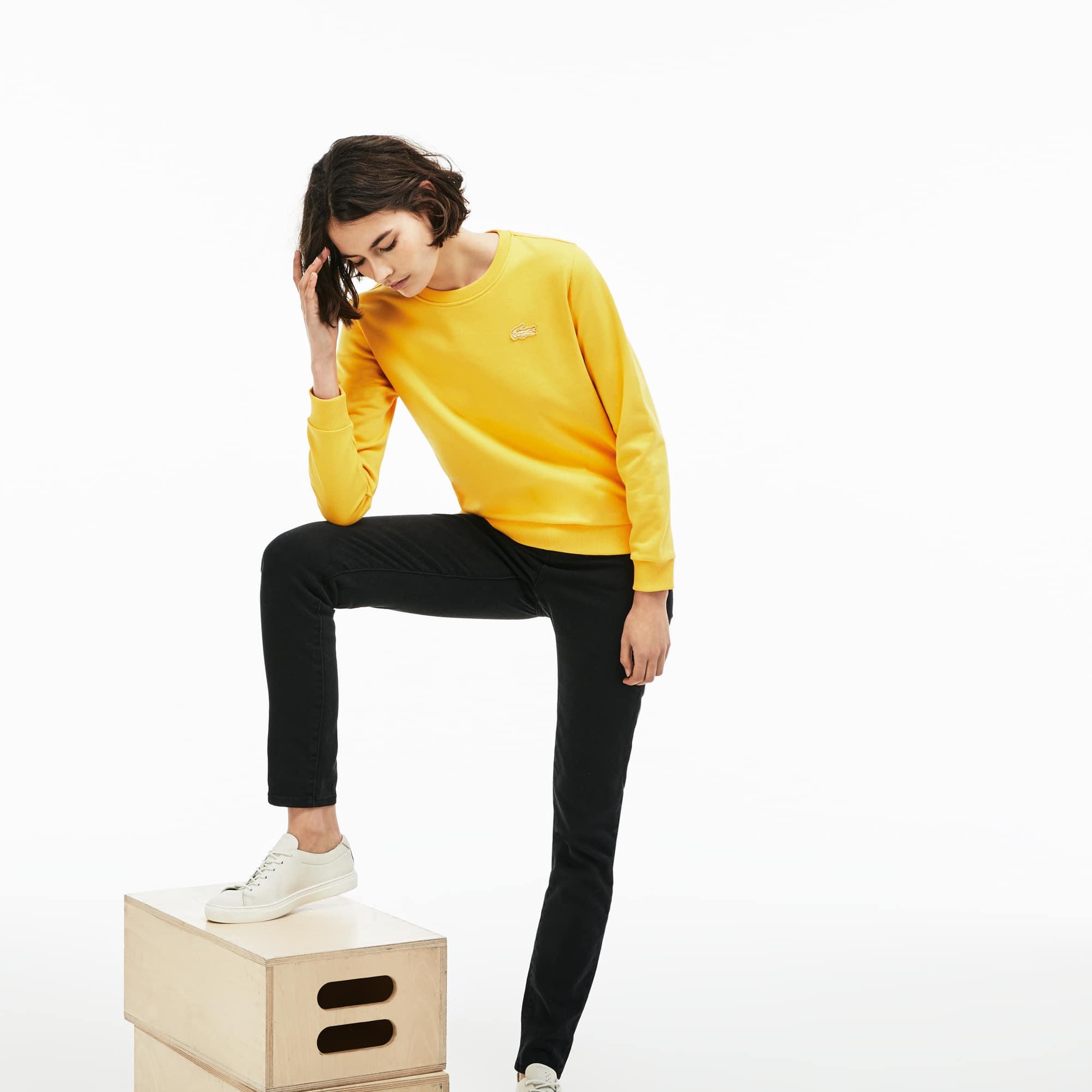 Lacoste - Damen-Sweatshirt mit Schlüssellochausschnitt LACOSTE L!VE - 6