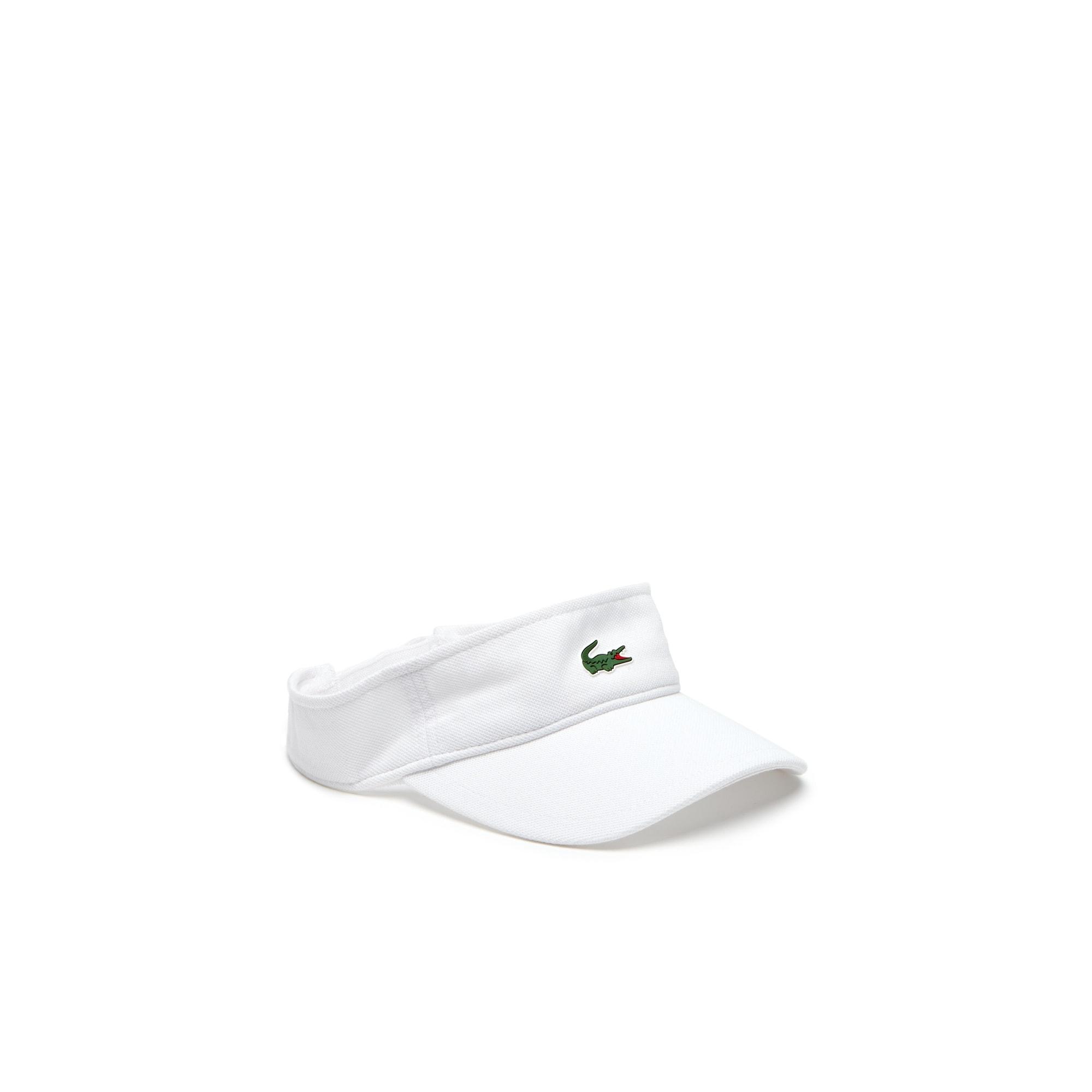 Herren LACOSTE SPORT Tennis-Schirmkappe aus Piqué und Fleece