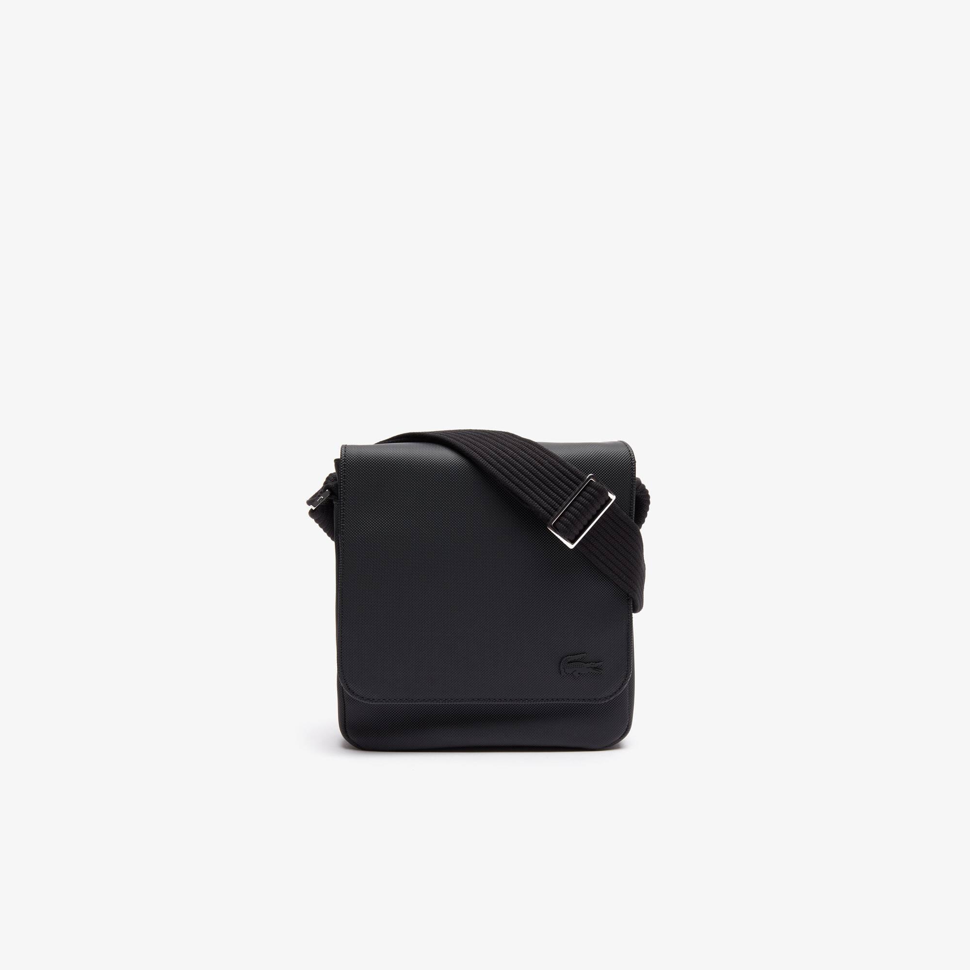Herren-Tasche CLASSIC aus Petit Piqué mit Klappe
