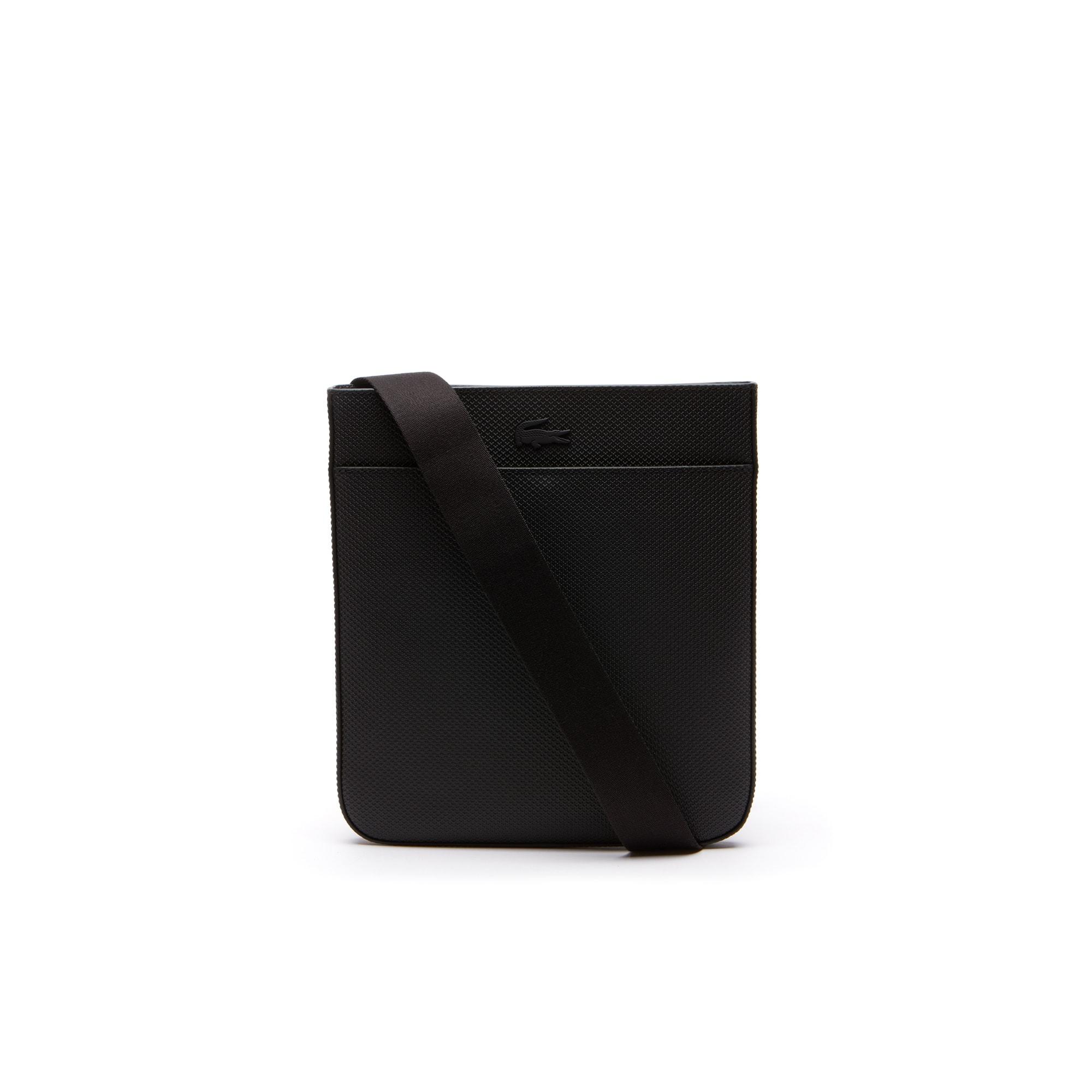 Herren CHANTACO Ledertasche aus mattem Piqué-Leder