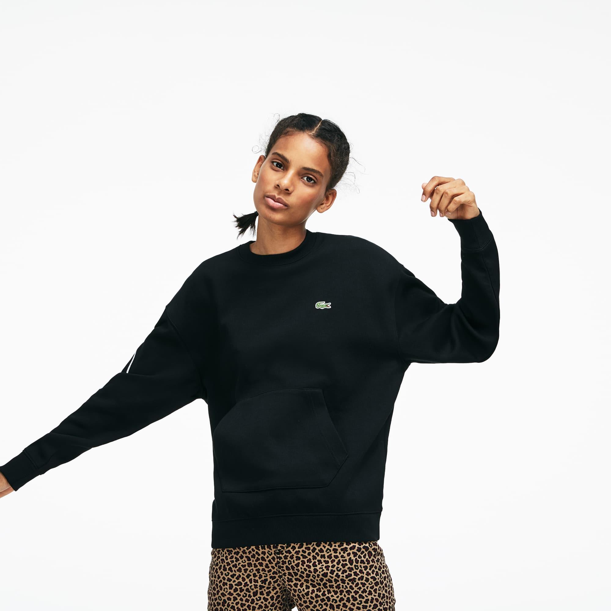 Lacoste - LACOSTE L!VE Rundhals-Sweatshirt mit Stickerei - 2