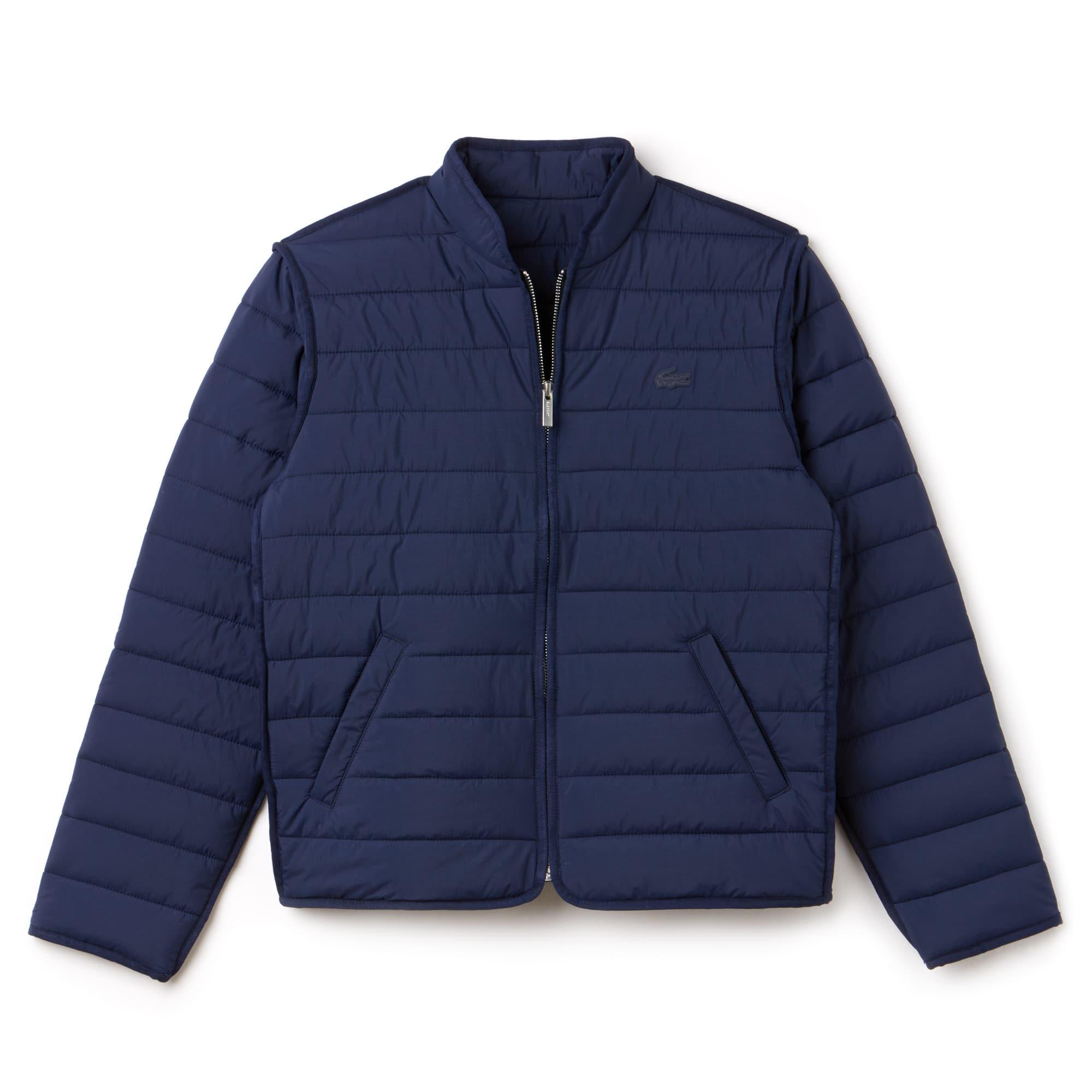Damen-Jacke mit Reißverschluss aus weichem Taft