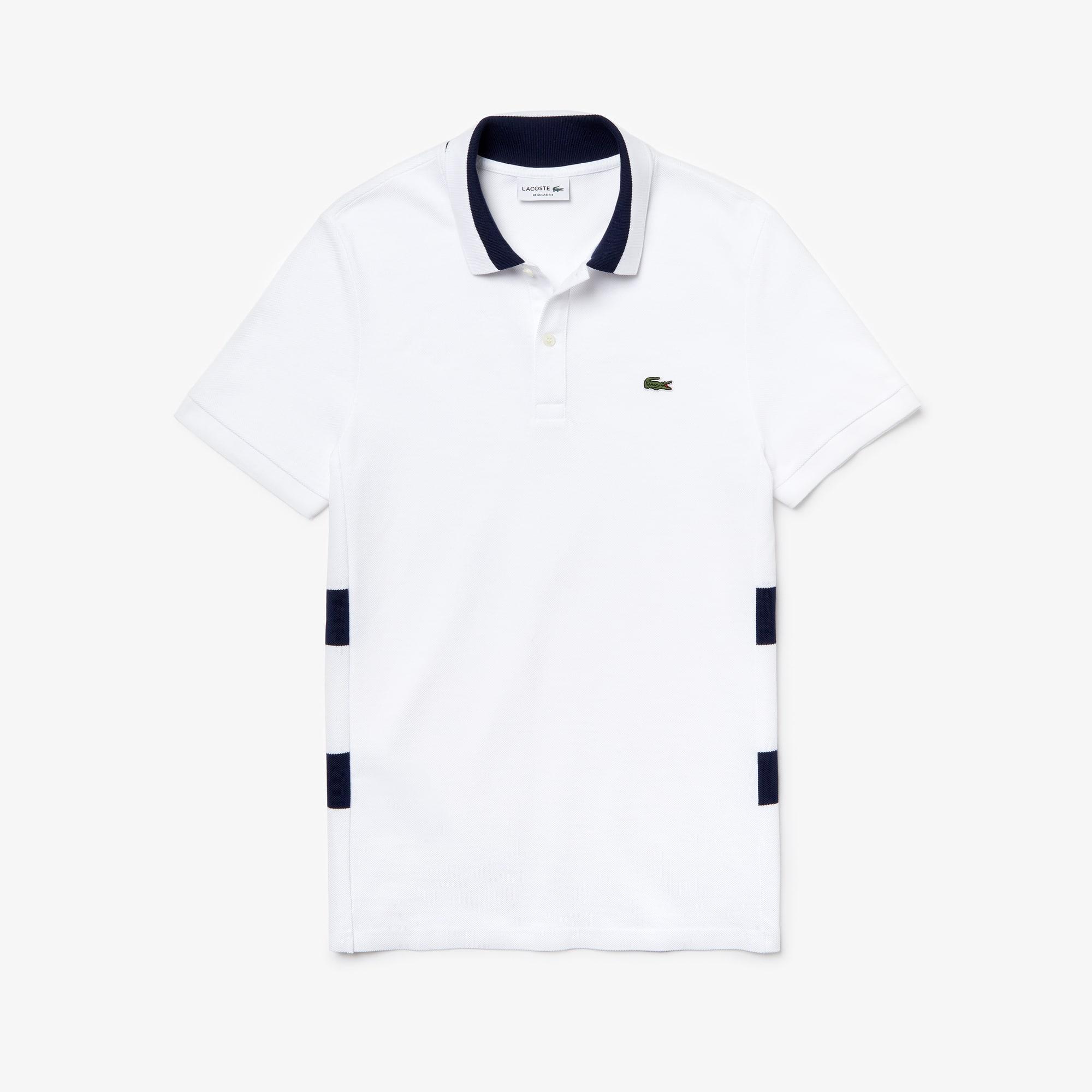online store 58319 e5969 Herren LACOSTE Regular Fit Poloshirt aus Baumwoll-Piqué