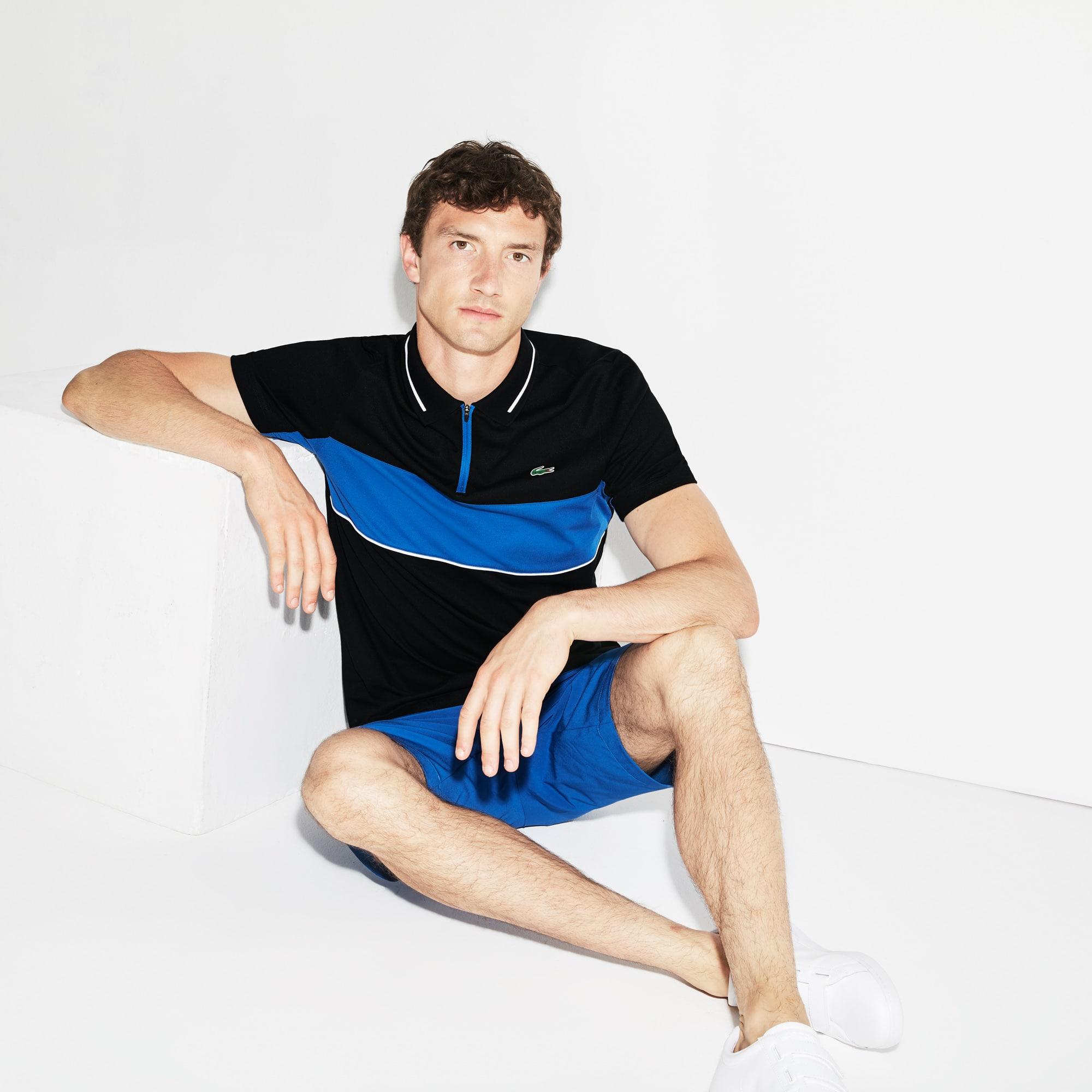 Lacoste - Herren LACOSTE SPORT Tennis-Poloshirt aus Funktionspiqué - 1