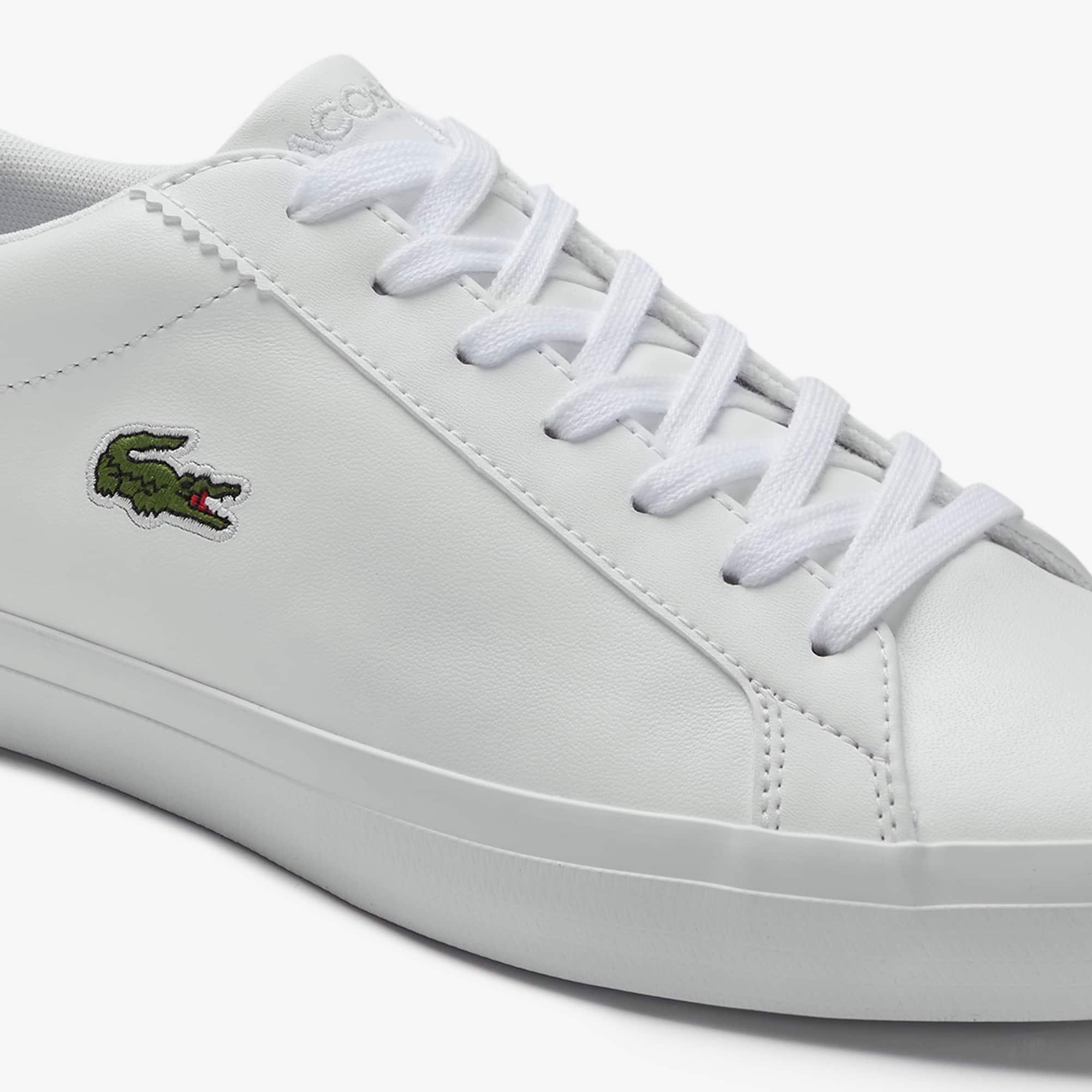 Lacoste - Herren-Sneakers LEROND aus einfarbigem Leder - 6