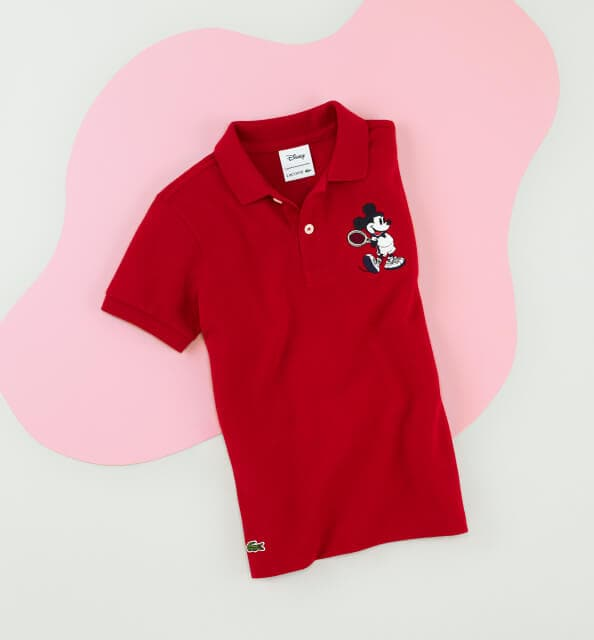 Minnie fans reveal their true colours in a red polo.