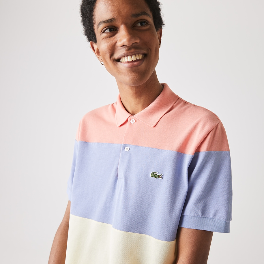 Men's Lacoste Fresh And Light Cotton Piqué Classic Fit Polo Shirt