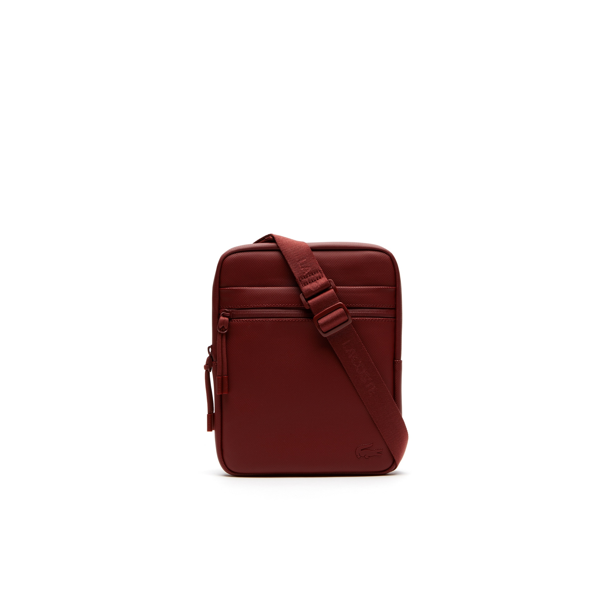 Men's L.12.12 Concept Petit Piqué Flat Zip Bag