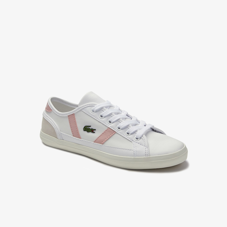 Women's Sideline Leather, Synthetic and Suede Trainers