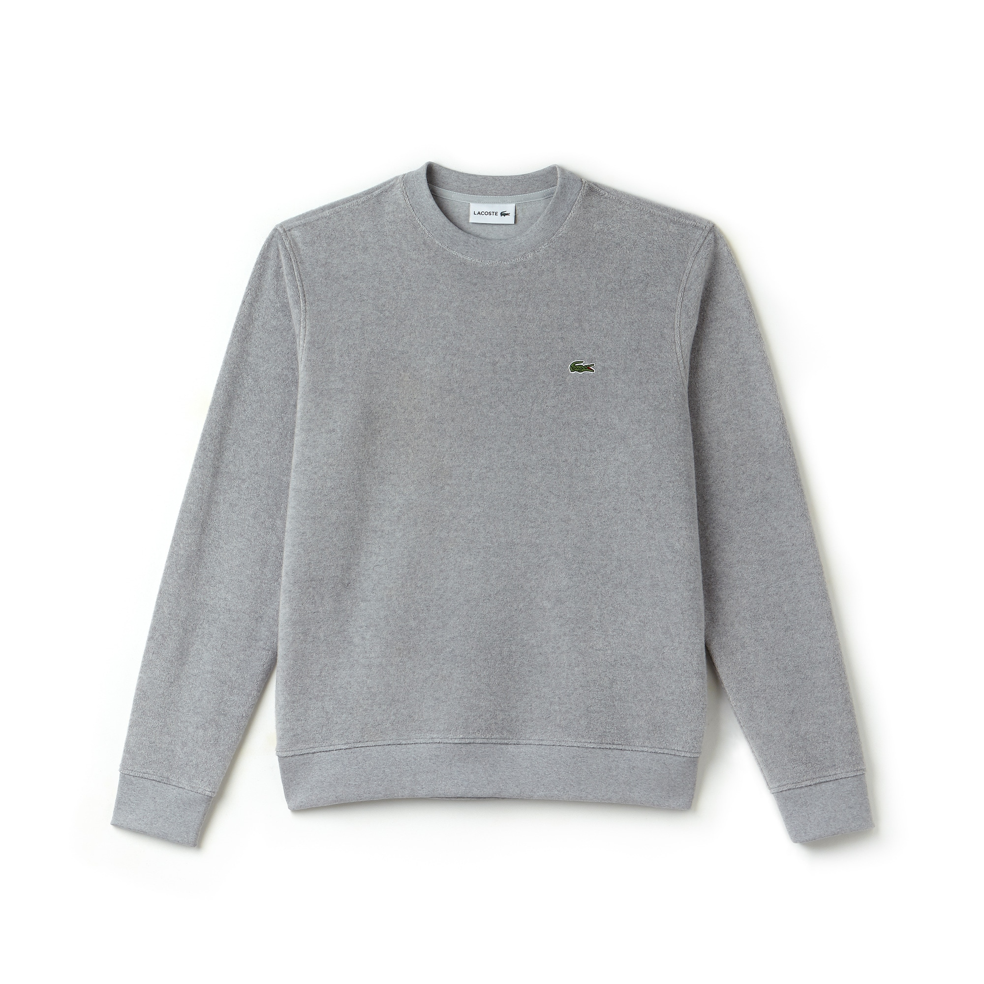 Men's Crew Neck Cotton Terry And Cashmere Sweatshirt