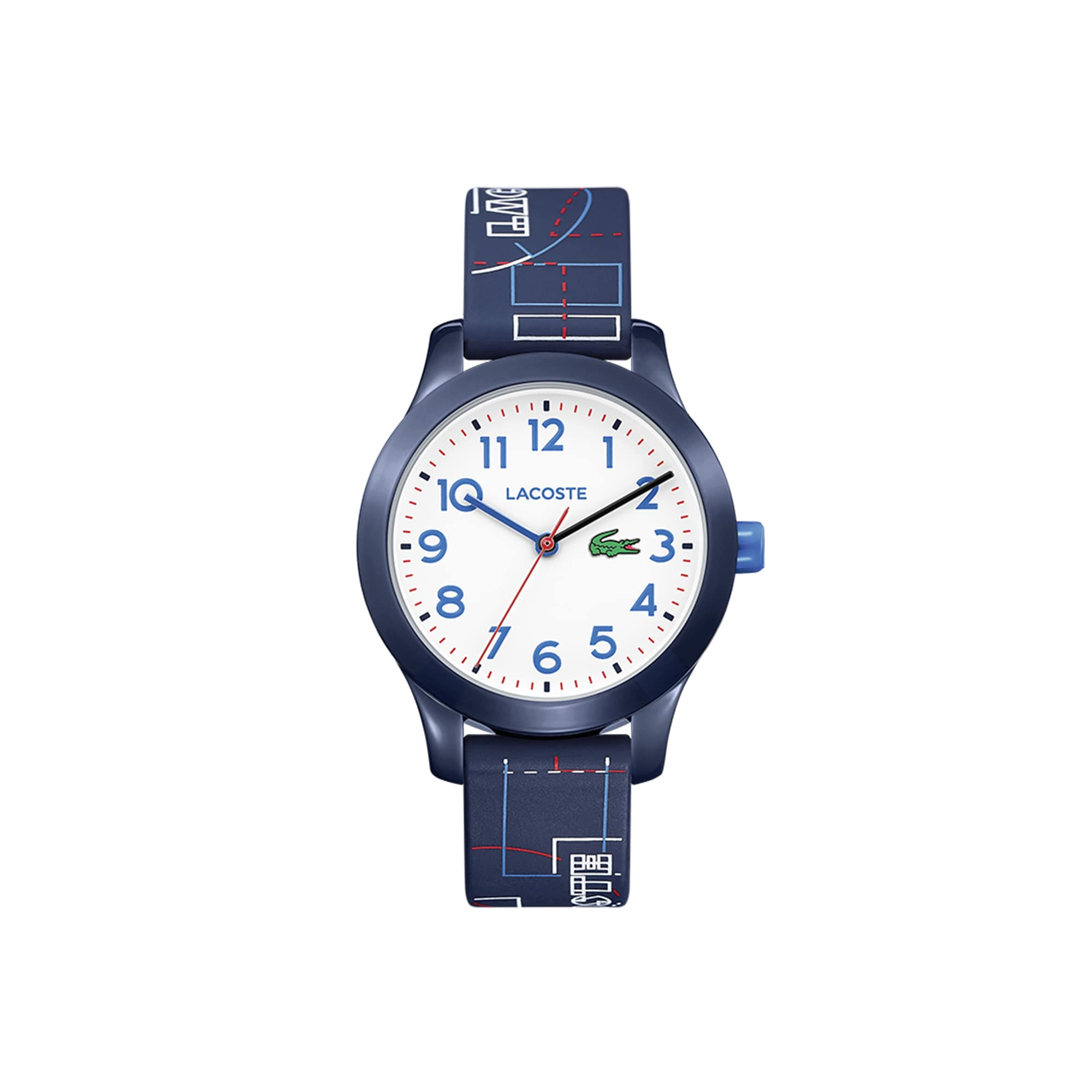 Kids Lacoste 12.12 Watch with Blue Silicone Strap