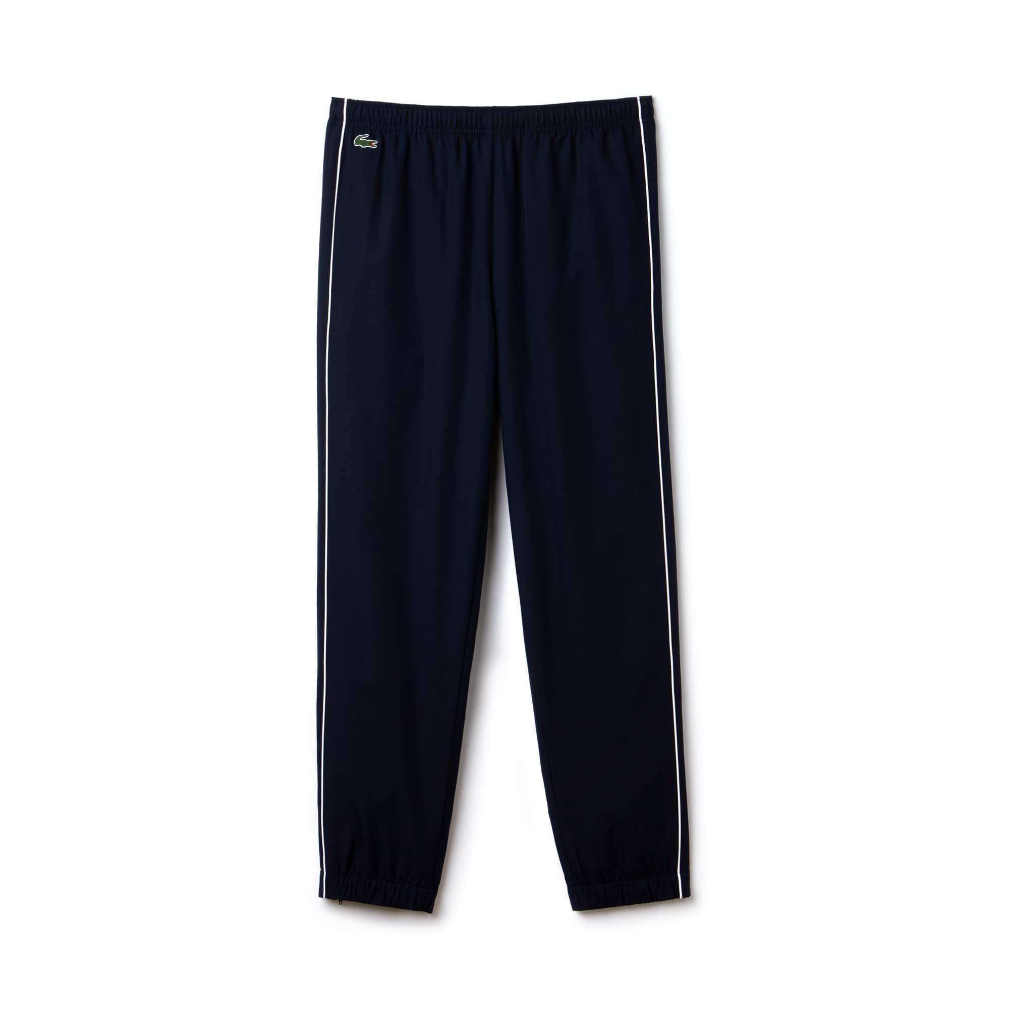 Men's Lacoste SPORT Piped Taffeta Sweatpants