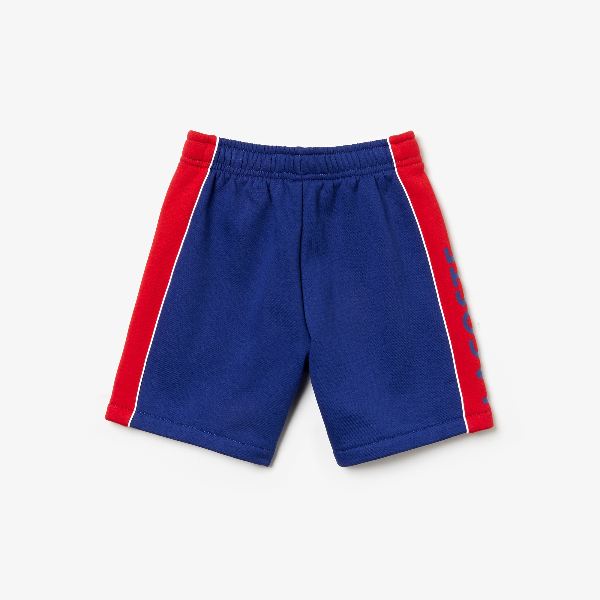 Boys' Lacoste SPORT Lettering Bicolour Fleece Shorts