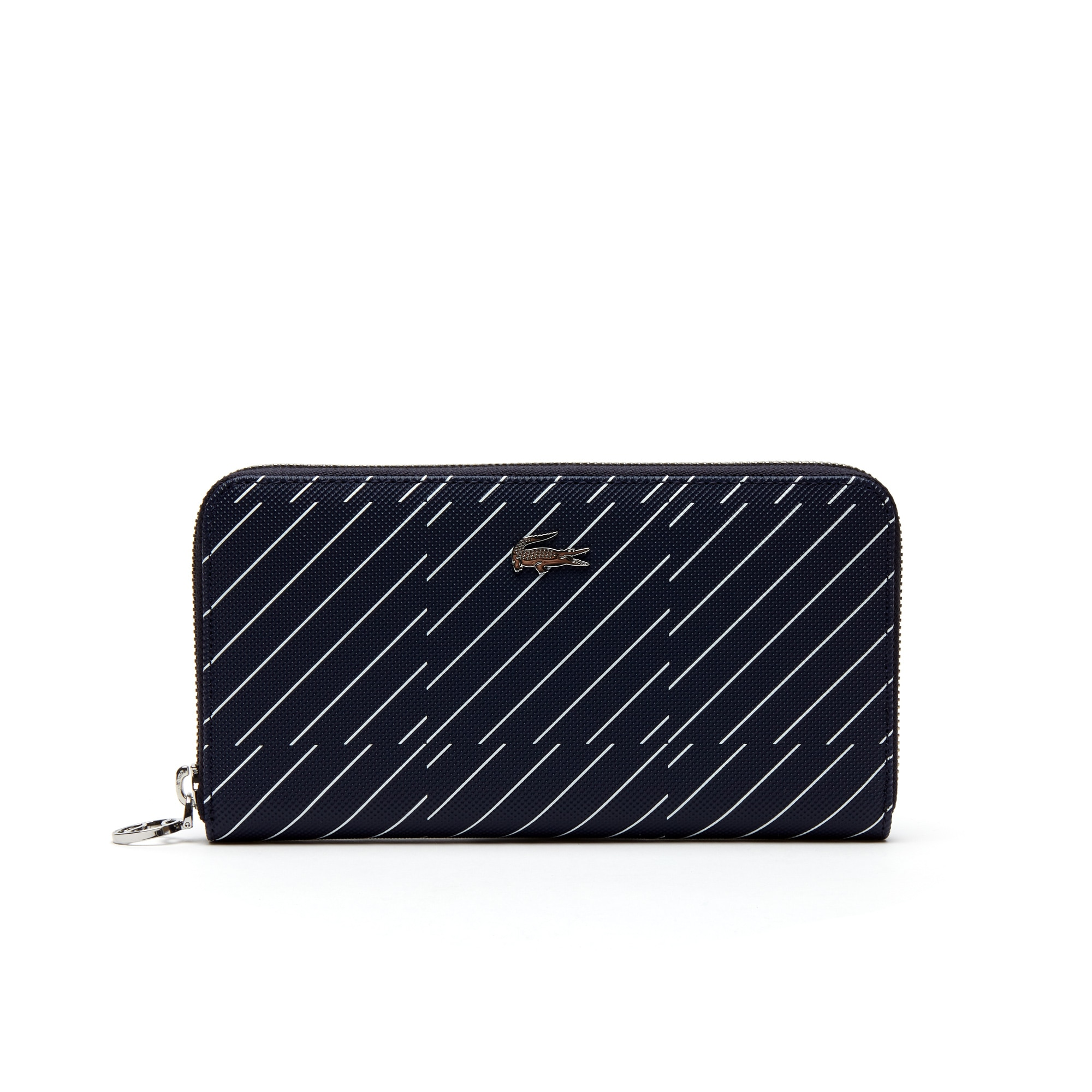 Women's Daily Classic Graphic Print Piqué Canvas Zip Wallet