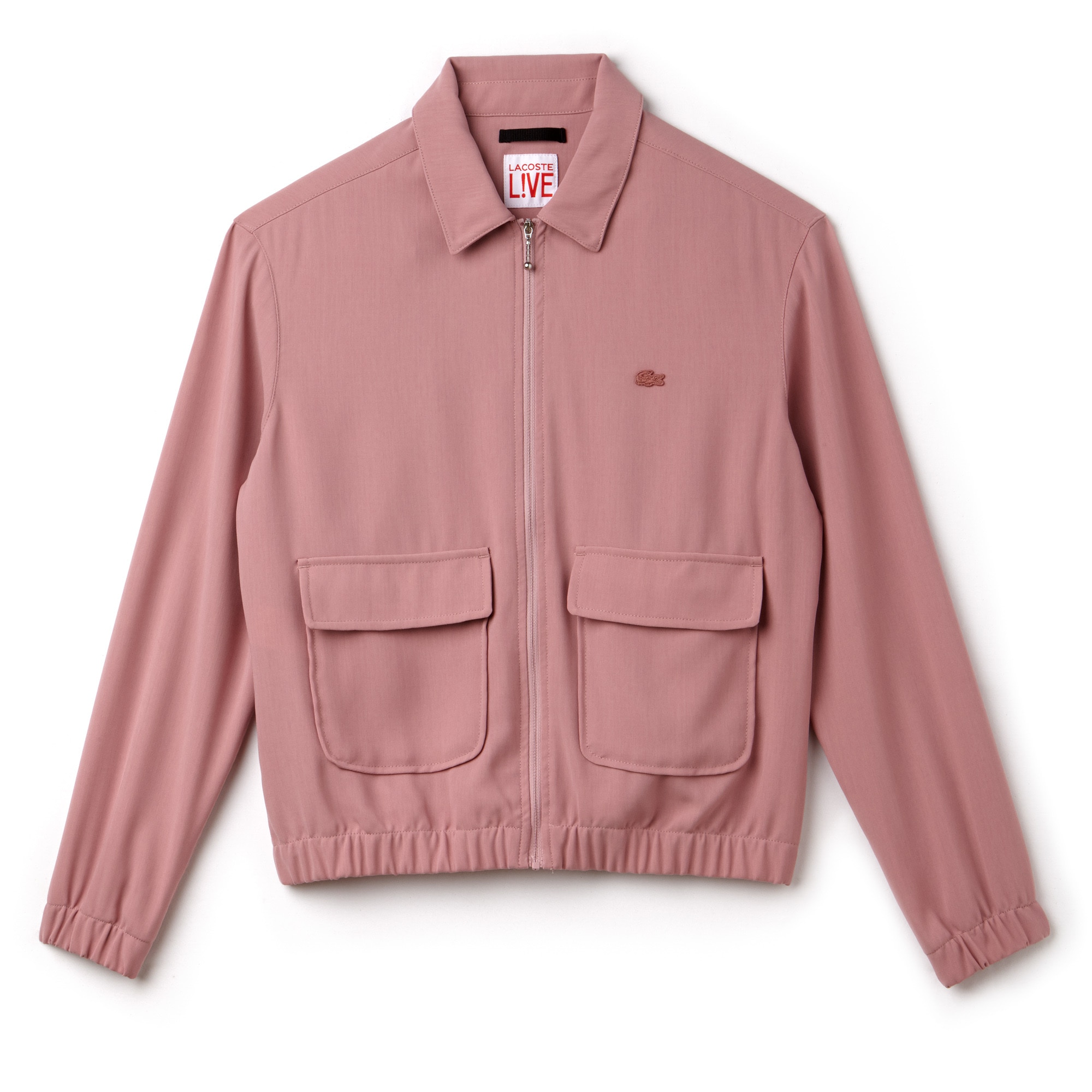 Women's Lacoste LIVE Crepe Short Zip Jacket