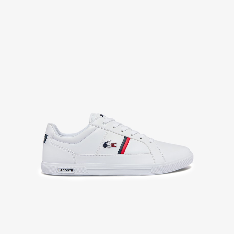 Men's Europa Tricolore Leather and Synthetic Trainers