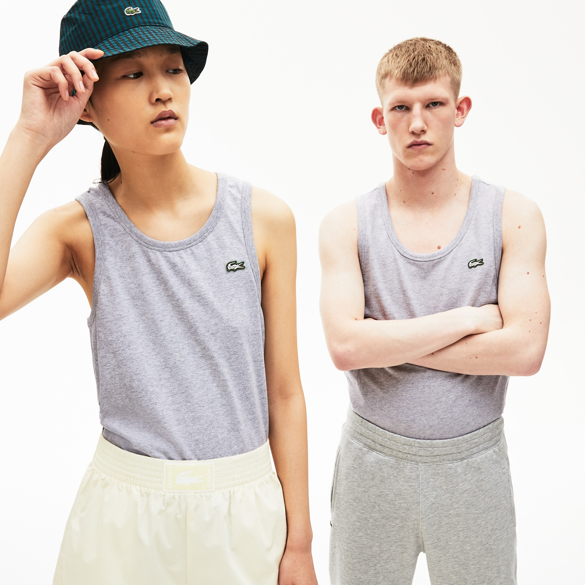 Unisex Lacoste LIVE Cotton Tank Top