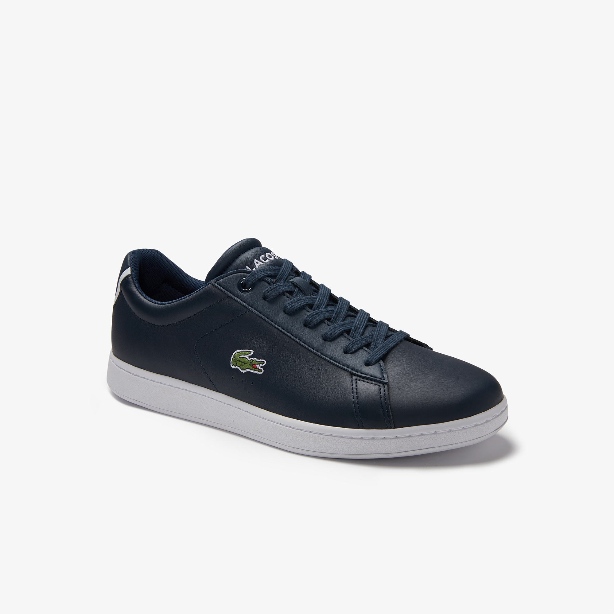 Men's Carnaby Evo Contrast Accent Leather Trainers