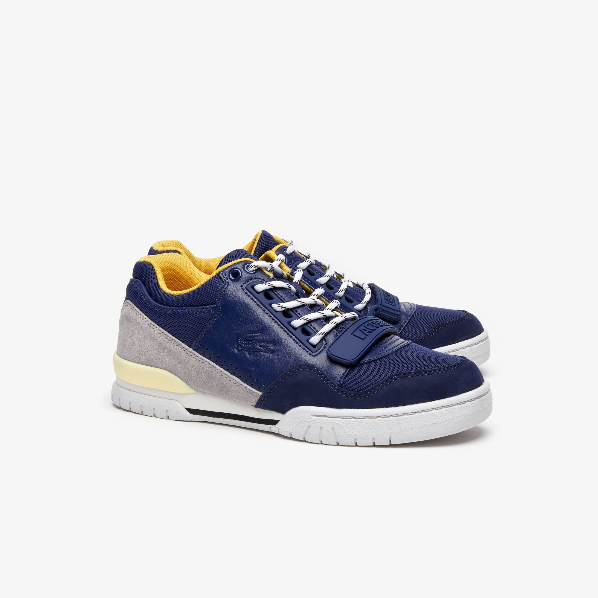 Men's Missouri Leather and Suede Trainers