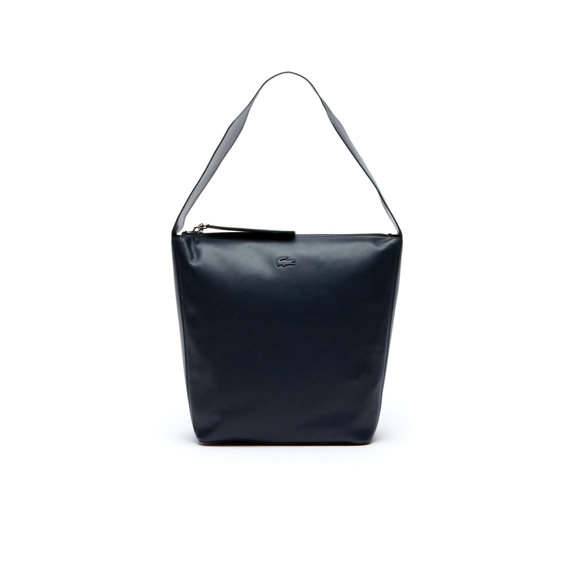 Women's Purity Soft Monochrome Leather Hobo Bag