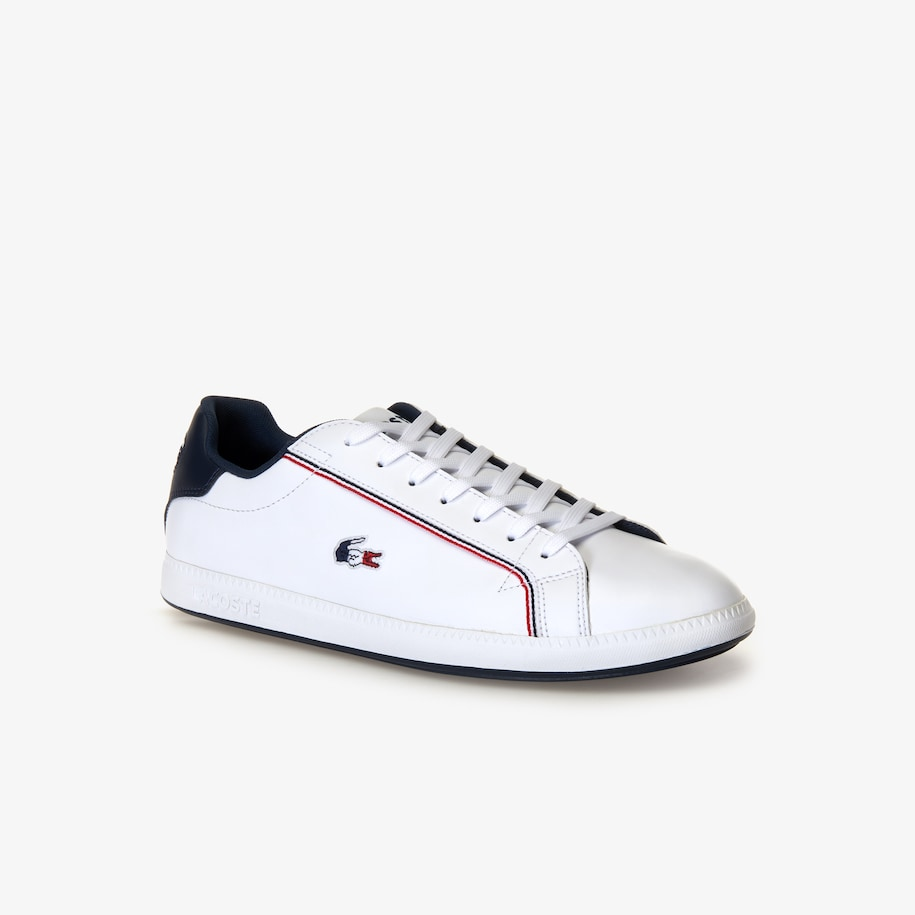 Men's Graduate Leather Tricolore Trainers