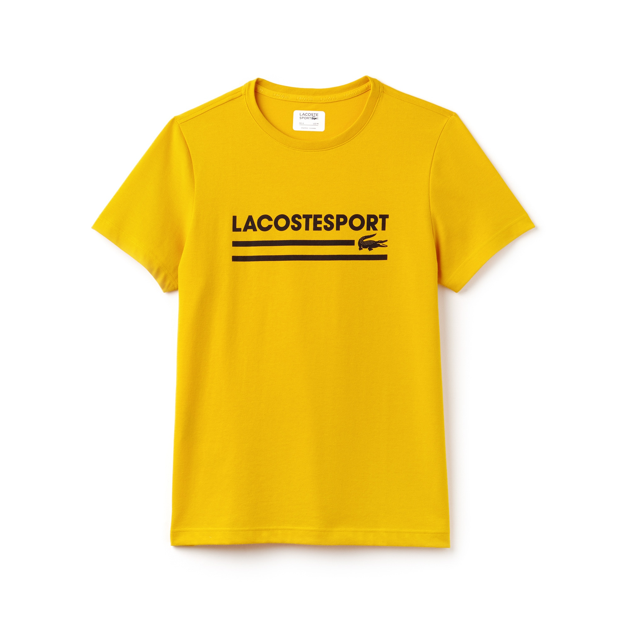 Men's Lacoste SPORT Lettering Technical Jersey Tennis T-shirt