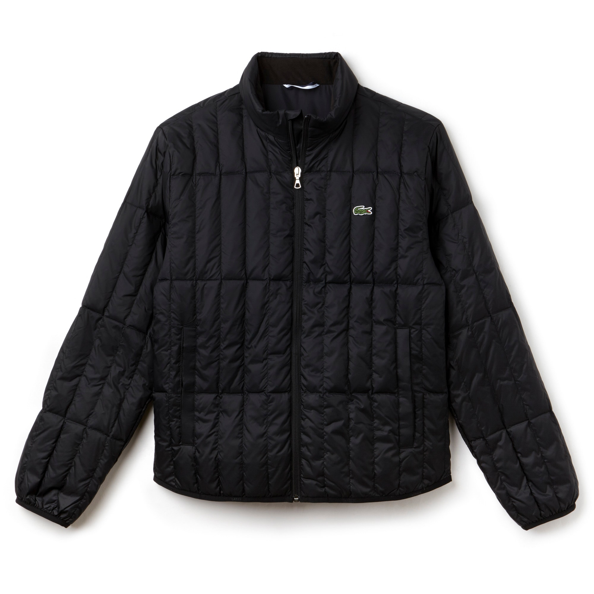 Men's Built-in Hood Quilted Jacket