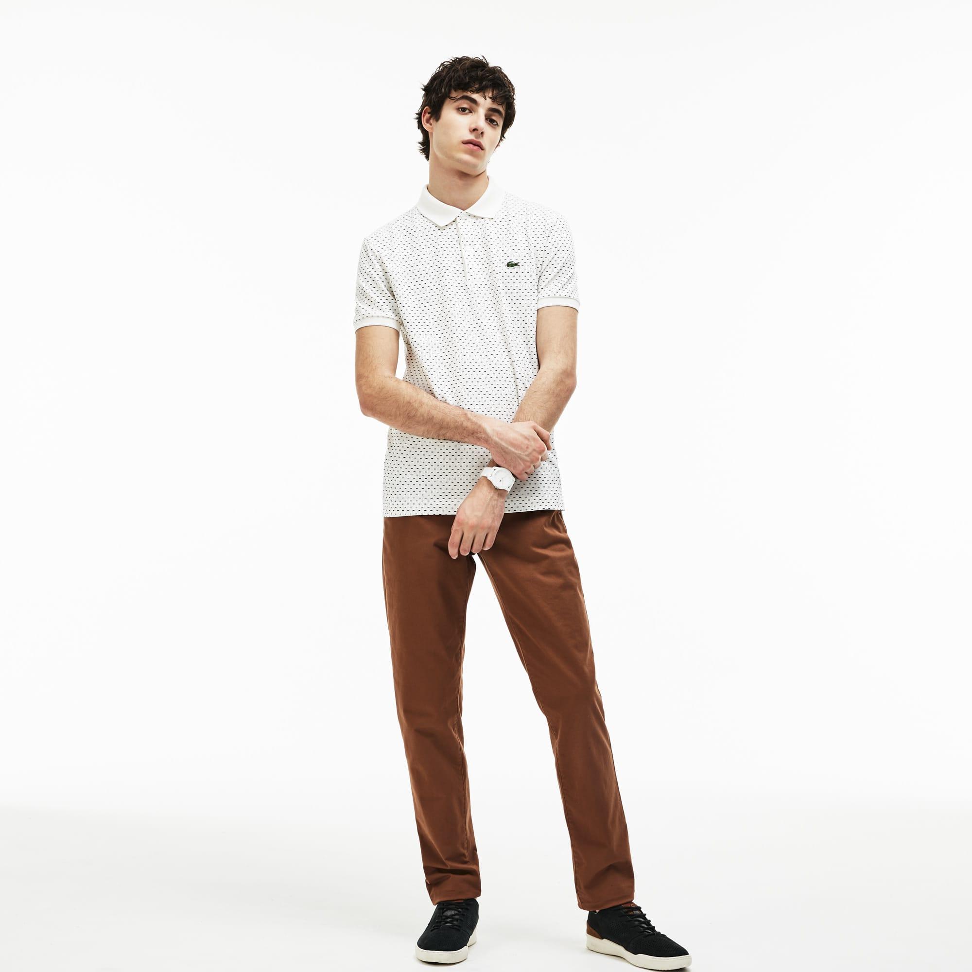 Men's Slim Fit Stretch Gabardine Chino Pants