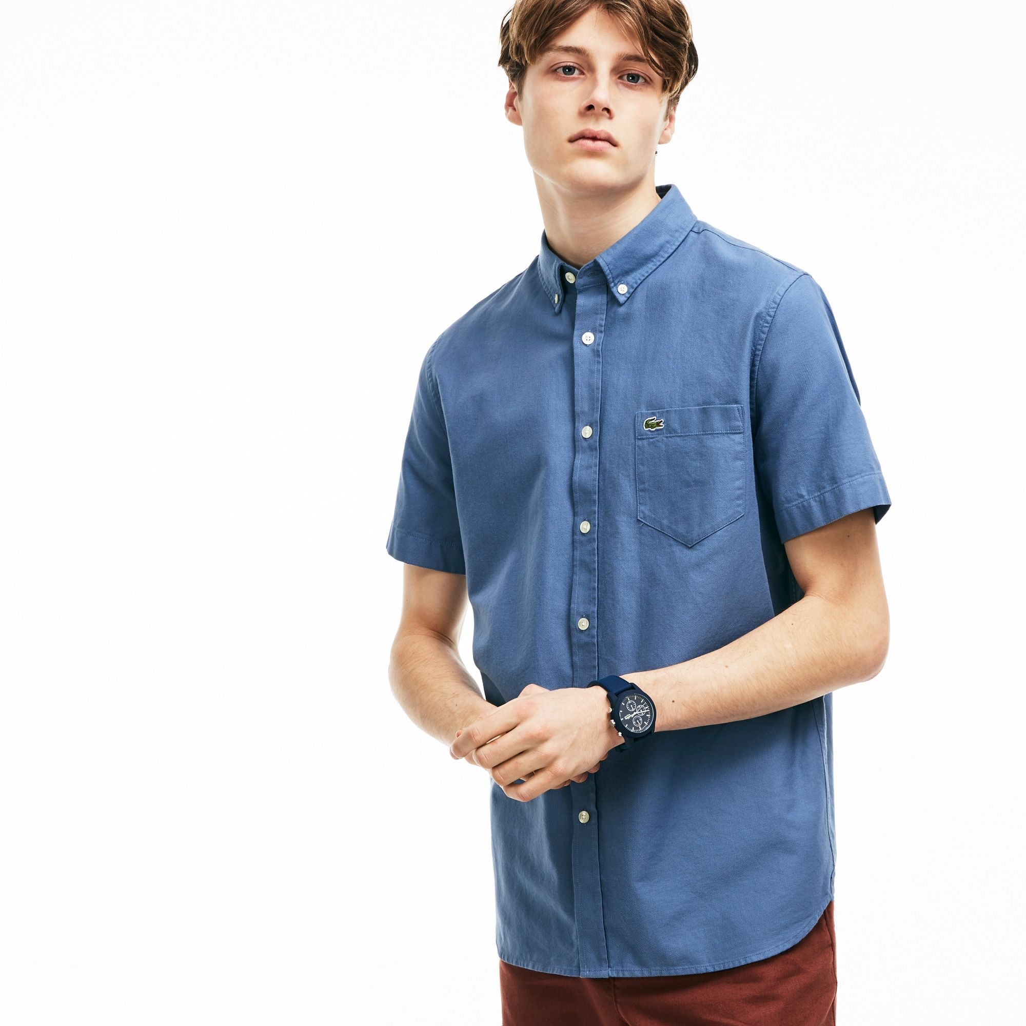 Men's Regular Fit Piqué Shirt