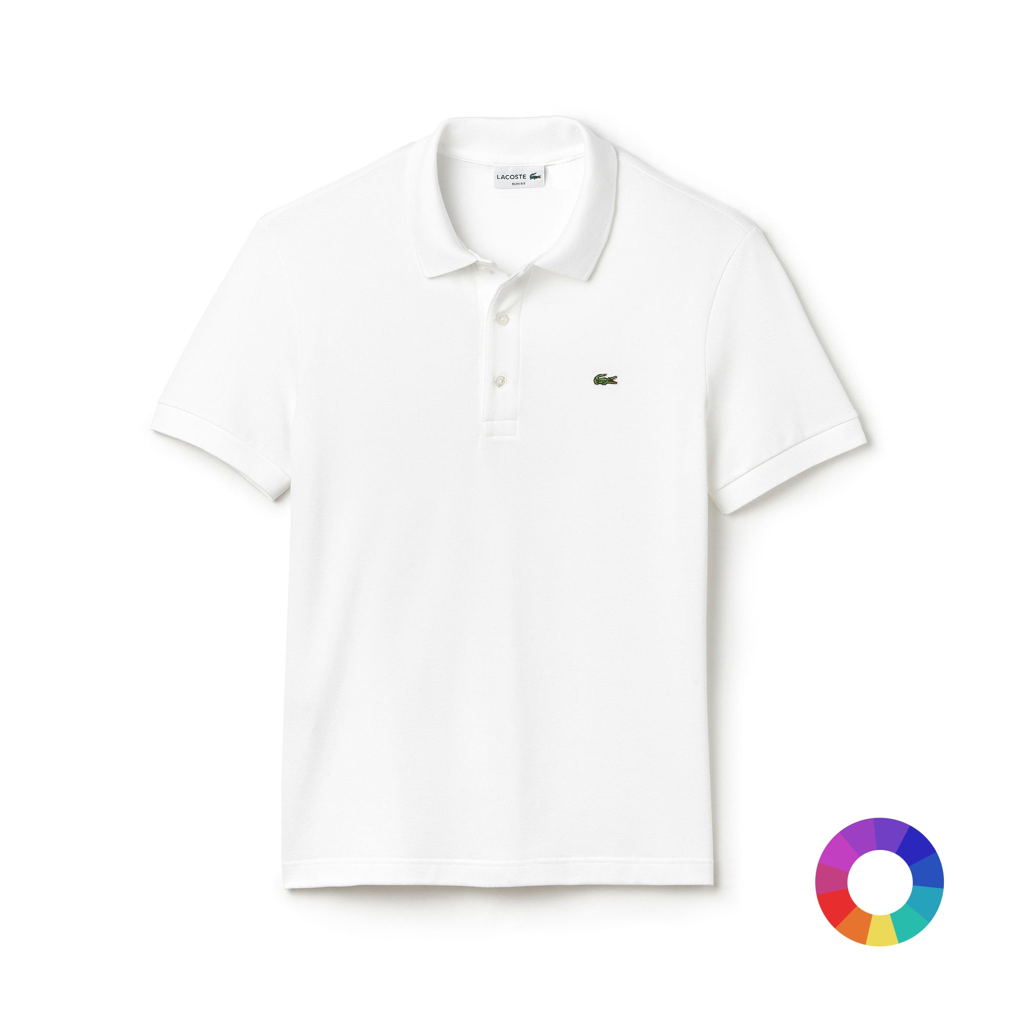 Customized L.12.12 Lacoste Polo