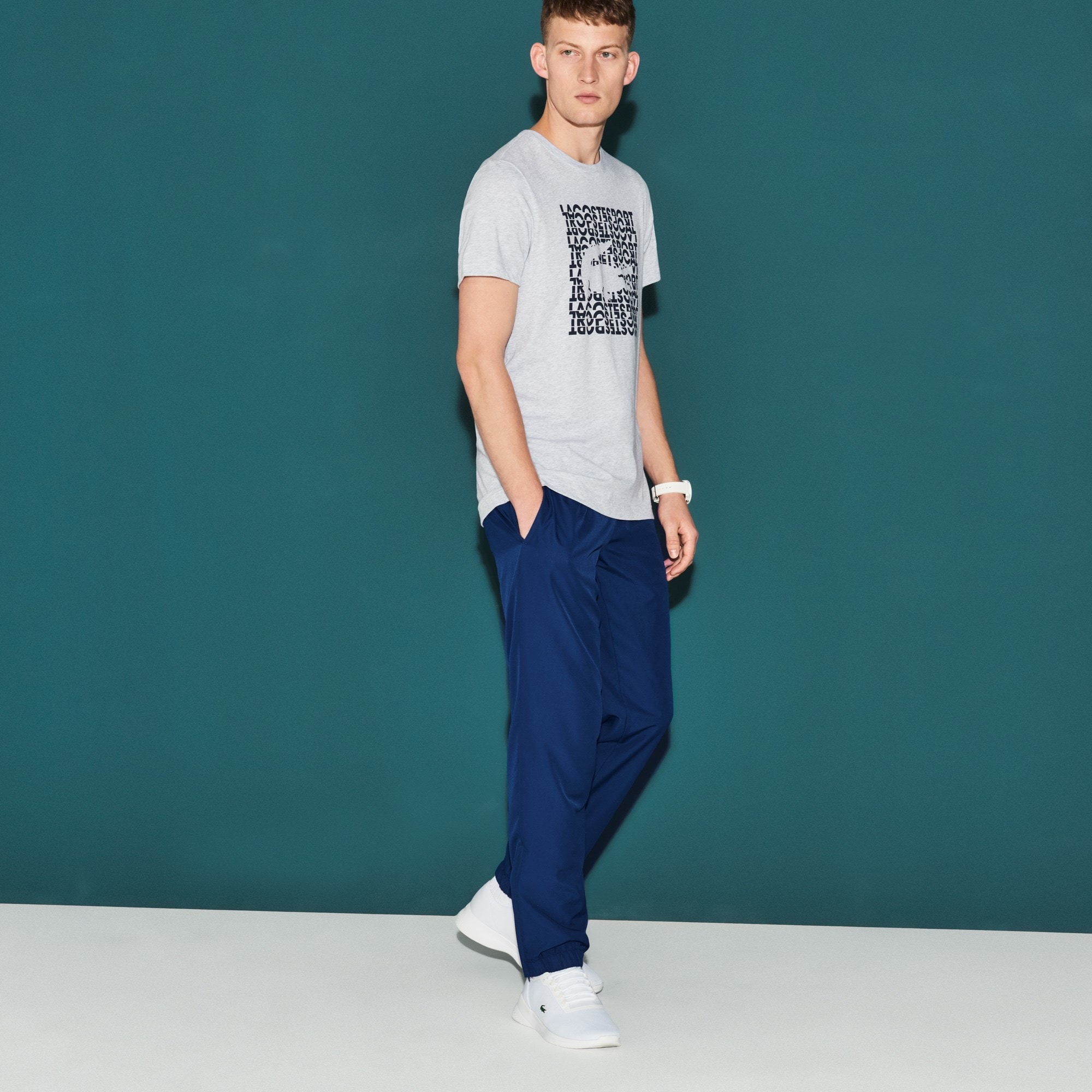 Men's Lacoste SPORT Taffeta Tennis Sweatpants