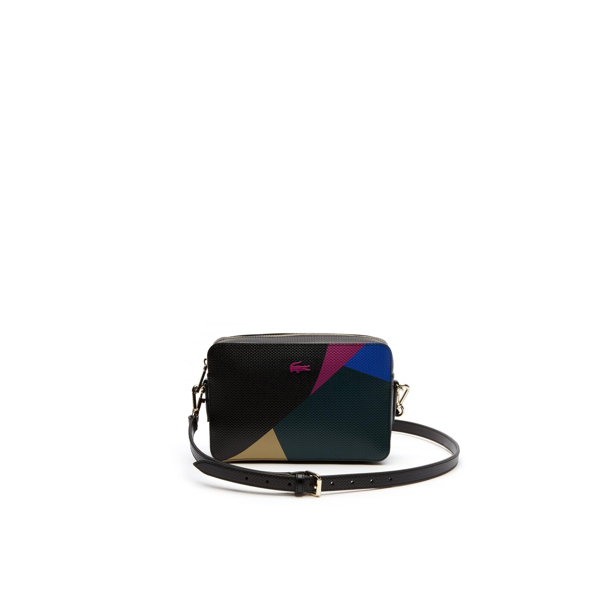 Women's Chantaco Colorblock Square Leather Shoulder Bag