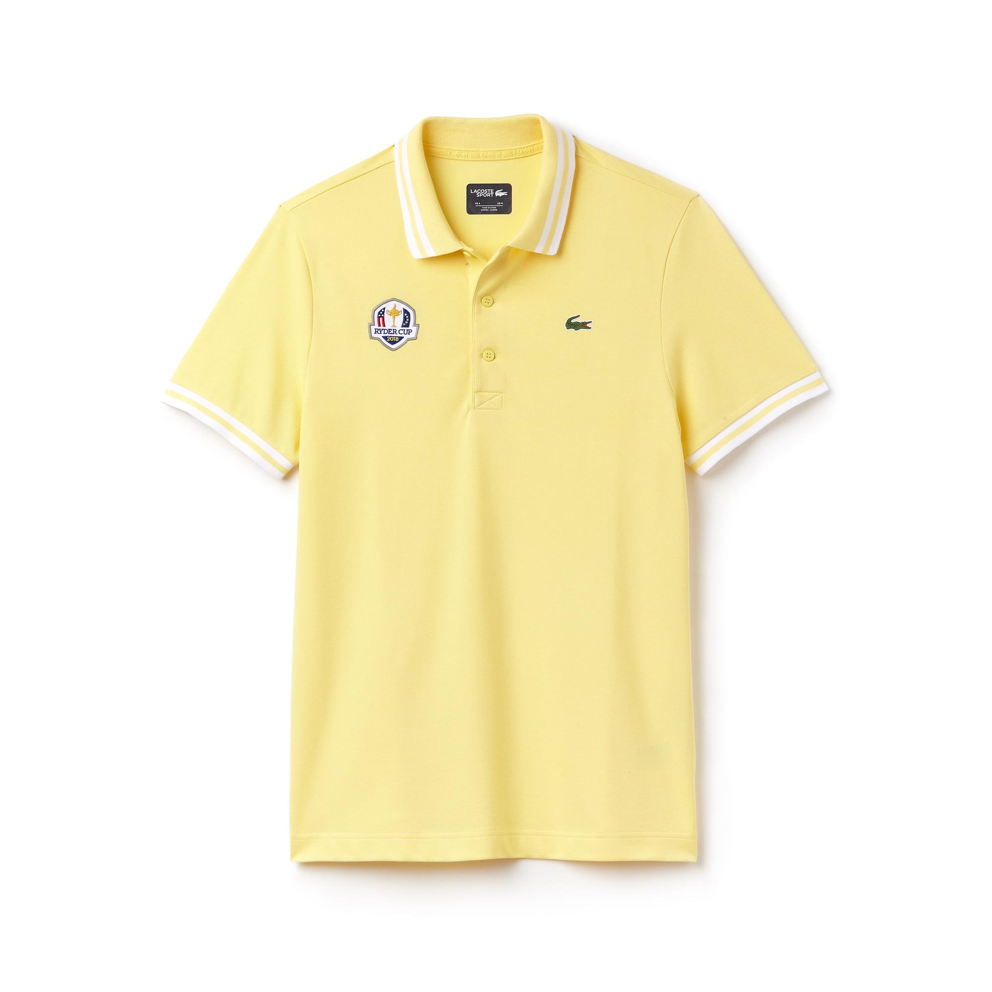 Men's Lacoste SPORT Ryder Cup Edition Tech Petit Piqué Golf Polo Shirt