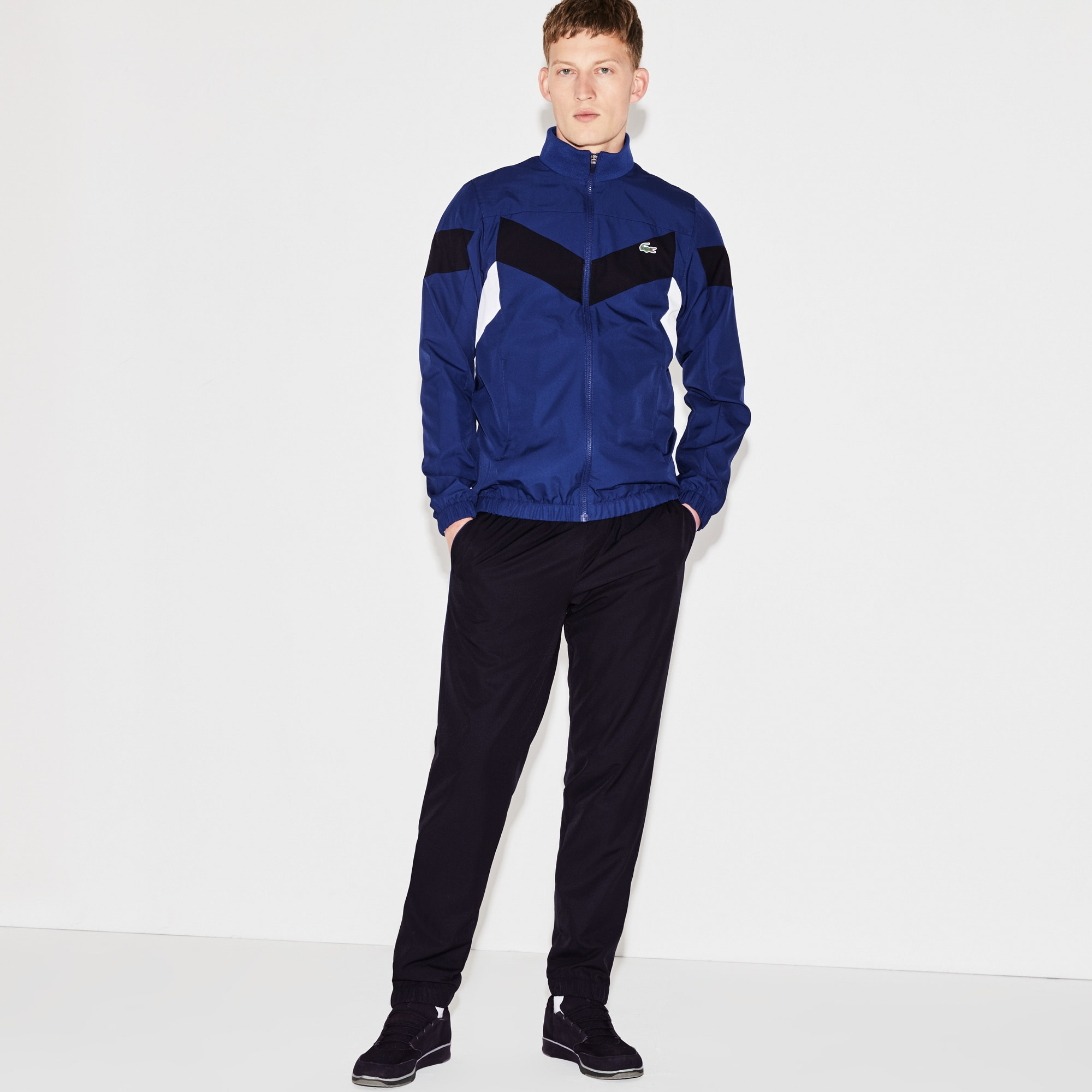 Men's Lacoste SPORT Tennis Colorblock Tracksuit