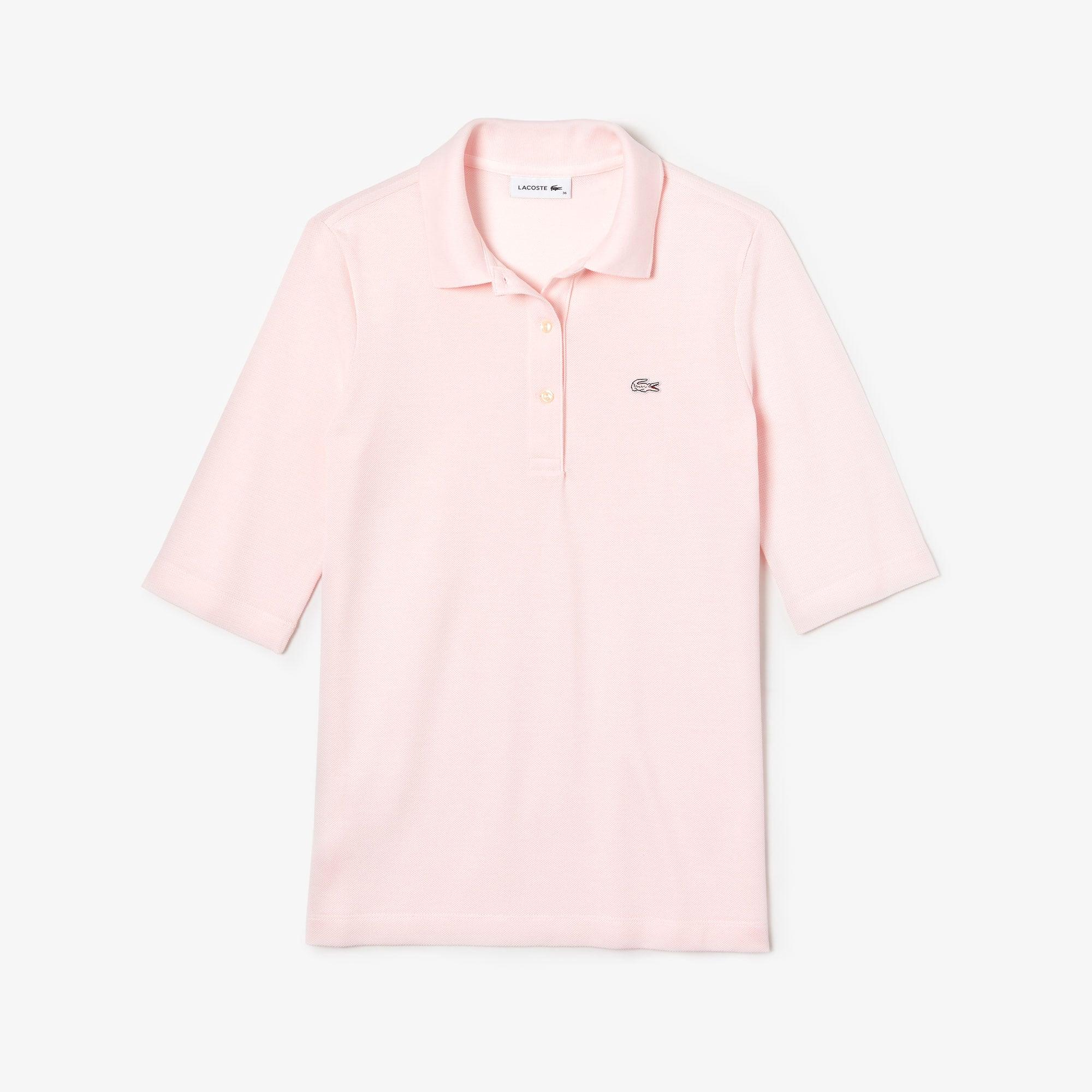 608c09a86fc26 Women s Lacoste Classic Fit Petit Piqué Polo Shirt