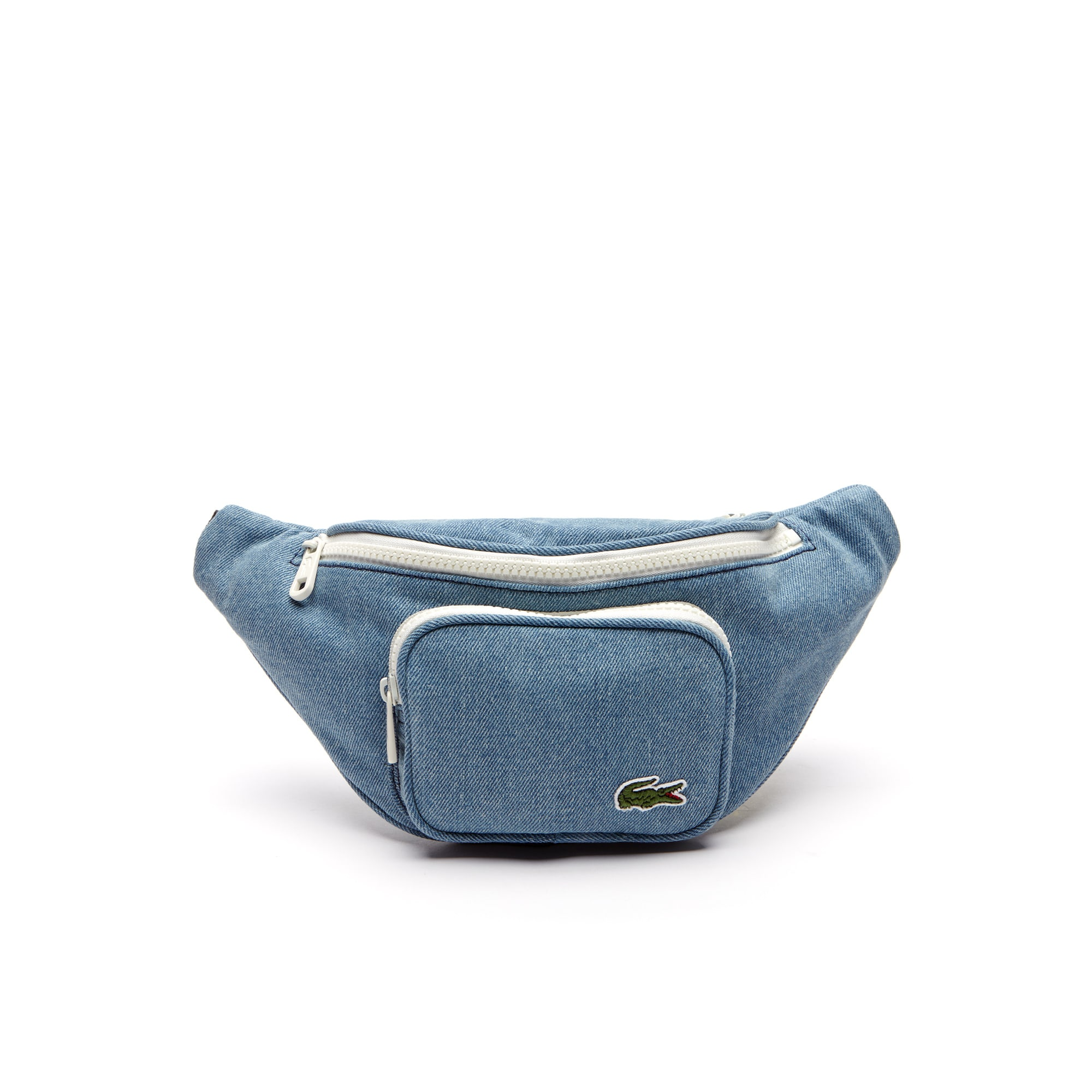 Men's Street Live Denim Effect Cotton Zip Fanny Pack