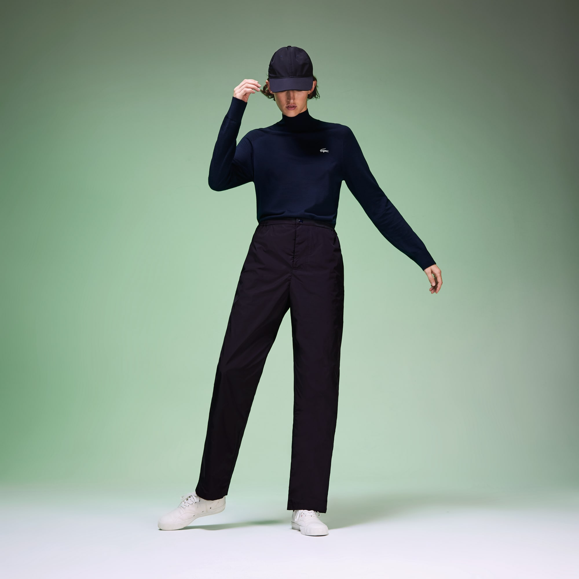 Unisex Fashion Show Wide Leg Pants