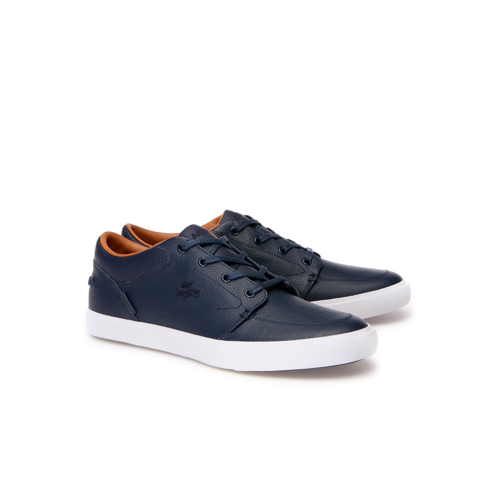 Men's Low-rise leather Bayliss VULC lace-up trainers