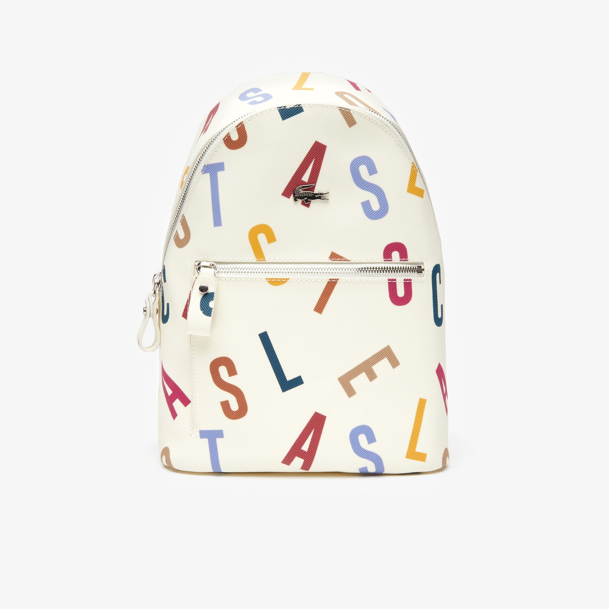 Women's Daily Classic Coated Print Canvas Backpack