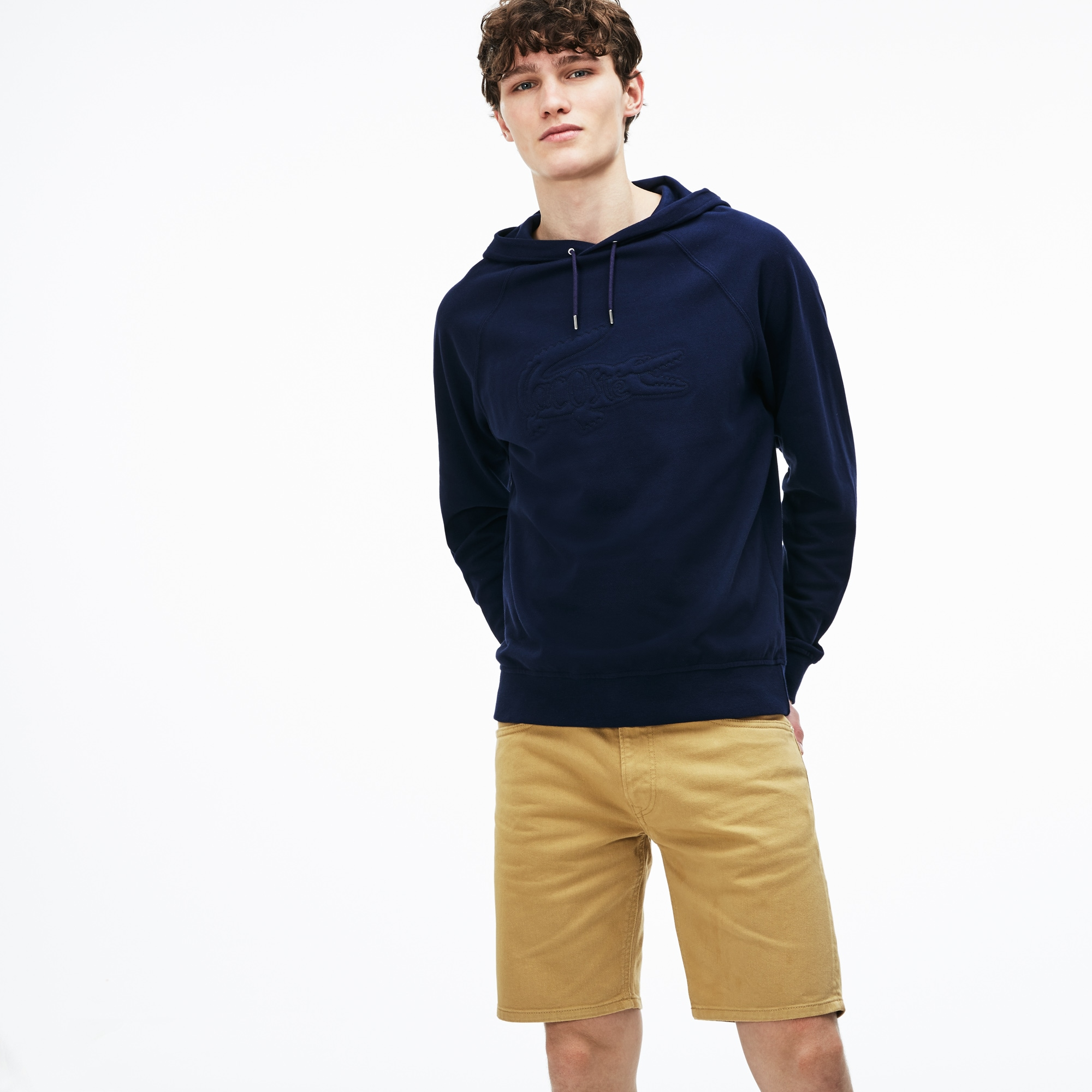 Men's Slim Fit 5 Pocket Stretch Twill Bermuda Shorts