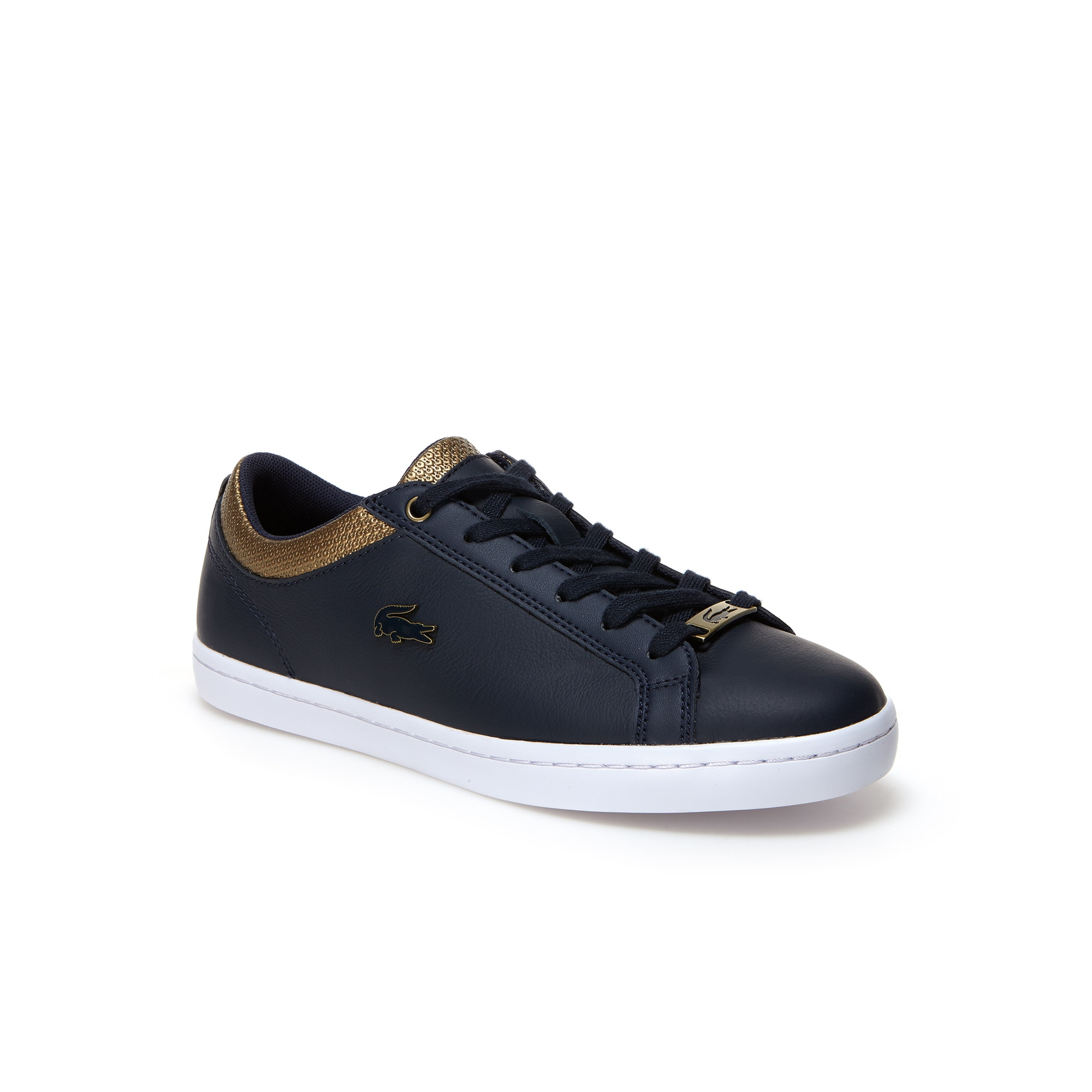 Women's Straightset Tumbled Leather Trainers