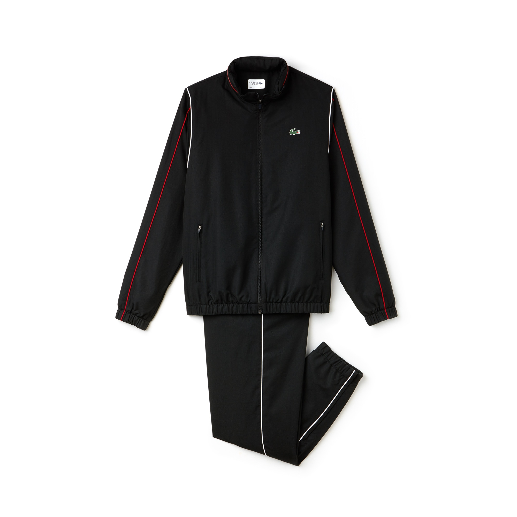 Men's Lacoste SPORT Piped Taffeta Tracksuit