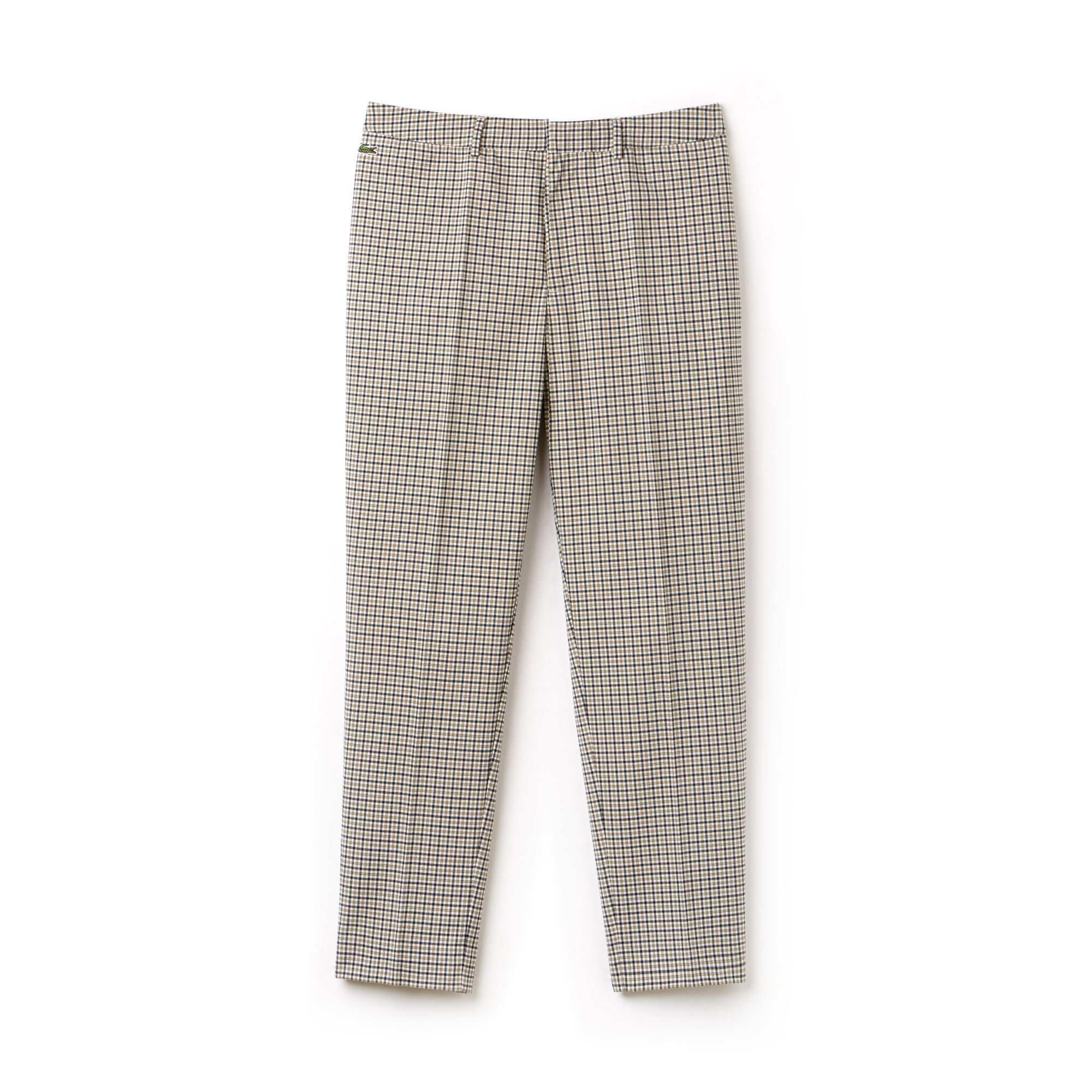 Men's Lacoste LIVE Stretch Check Twill Chino Pants